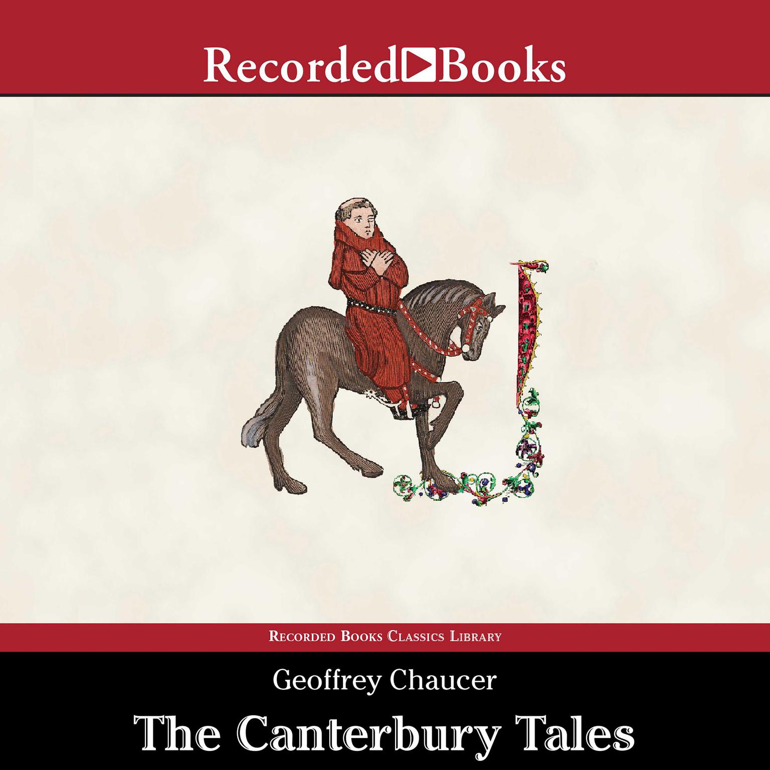 Printable The Canterbury Tales: A Retelling Audiobook Cover Art