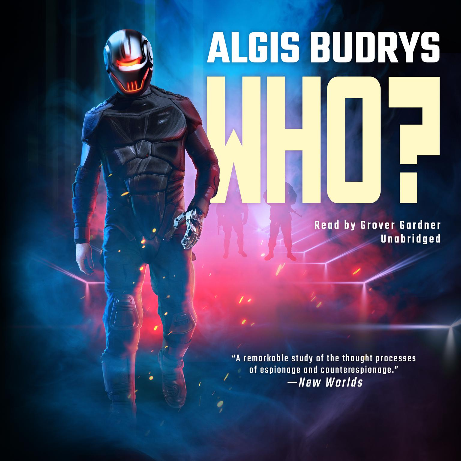 Printable Who? Audiobook Cover Art