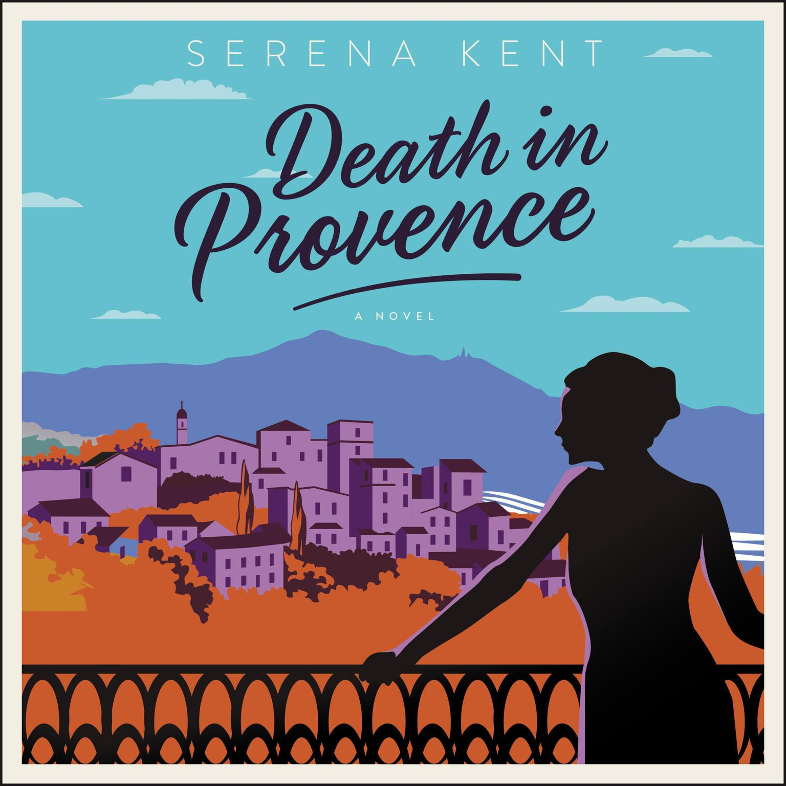 Printable Death in Provence: A Novel Audiobook Cover Art