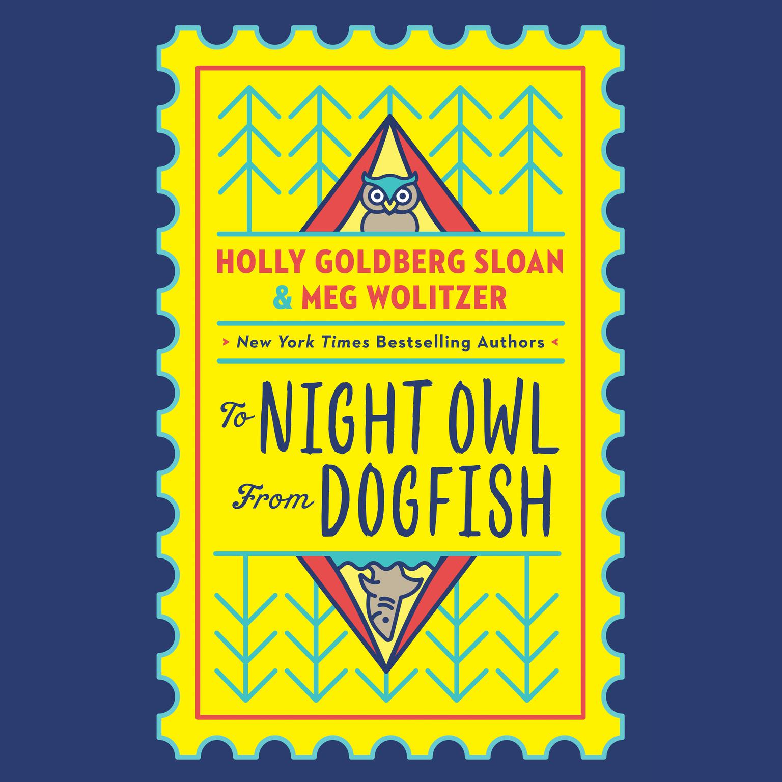 Printable To Night Owl From Dogfish Audiobook Cover Art