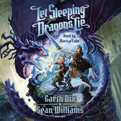 Let Sleeping Dragons Lie Audiobook, by Garth Nix
