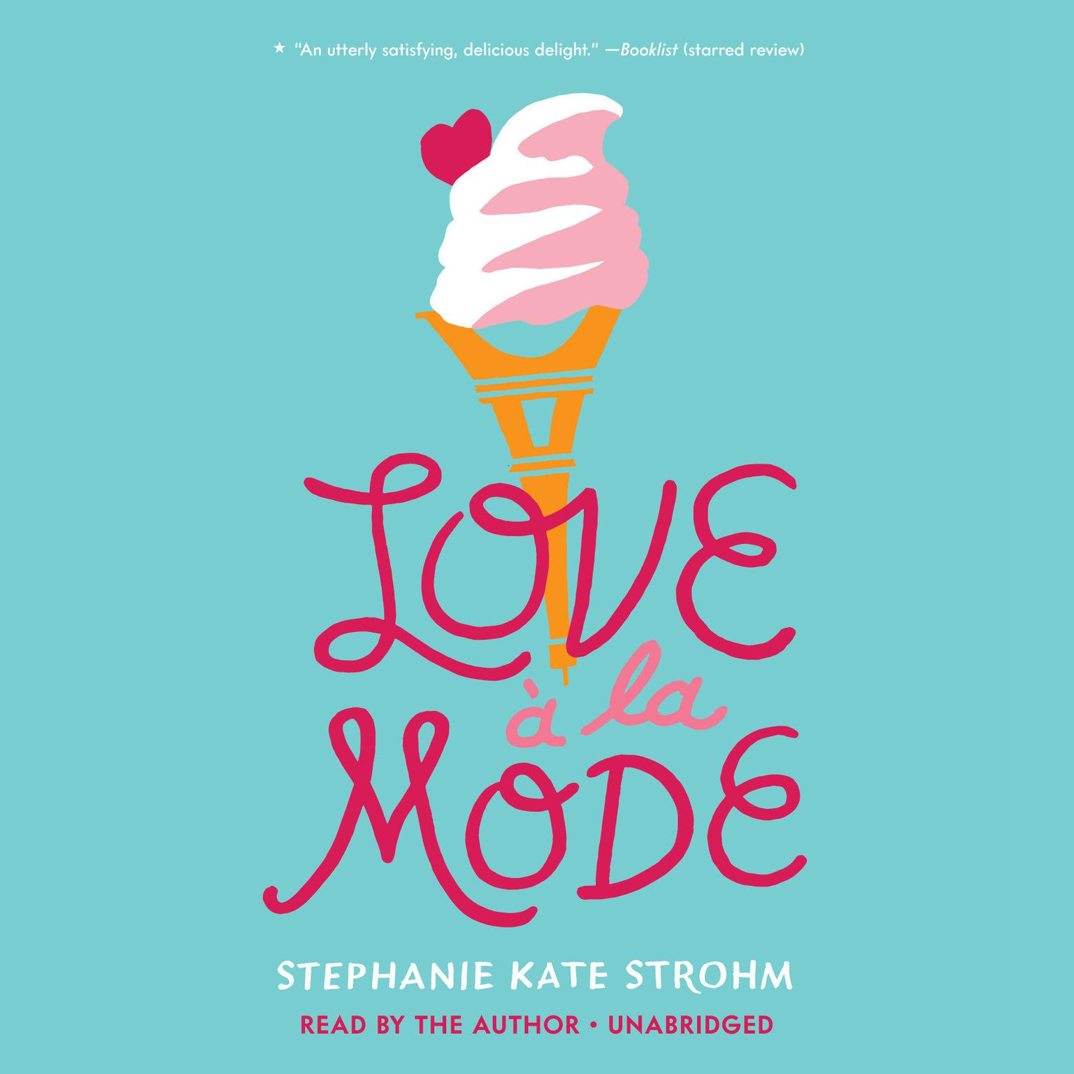 Printable Love à La Mode Audiobook Cover Art