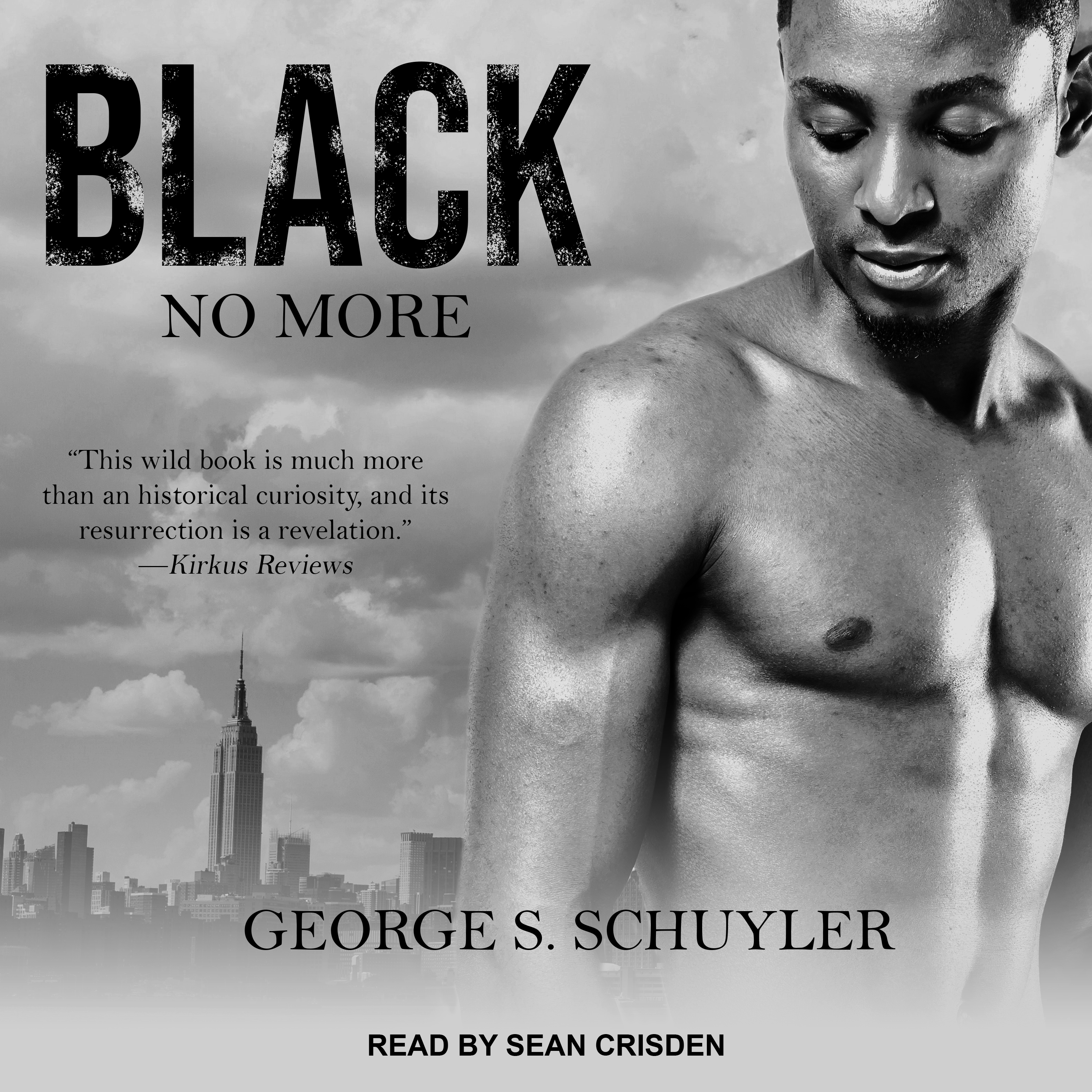Printable Black No More Audiobook Cover Art