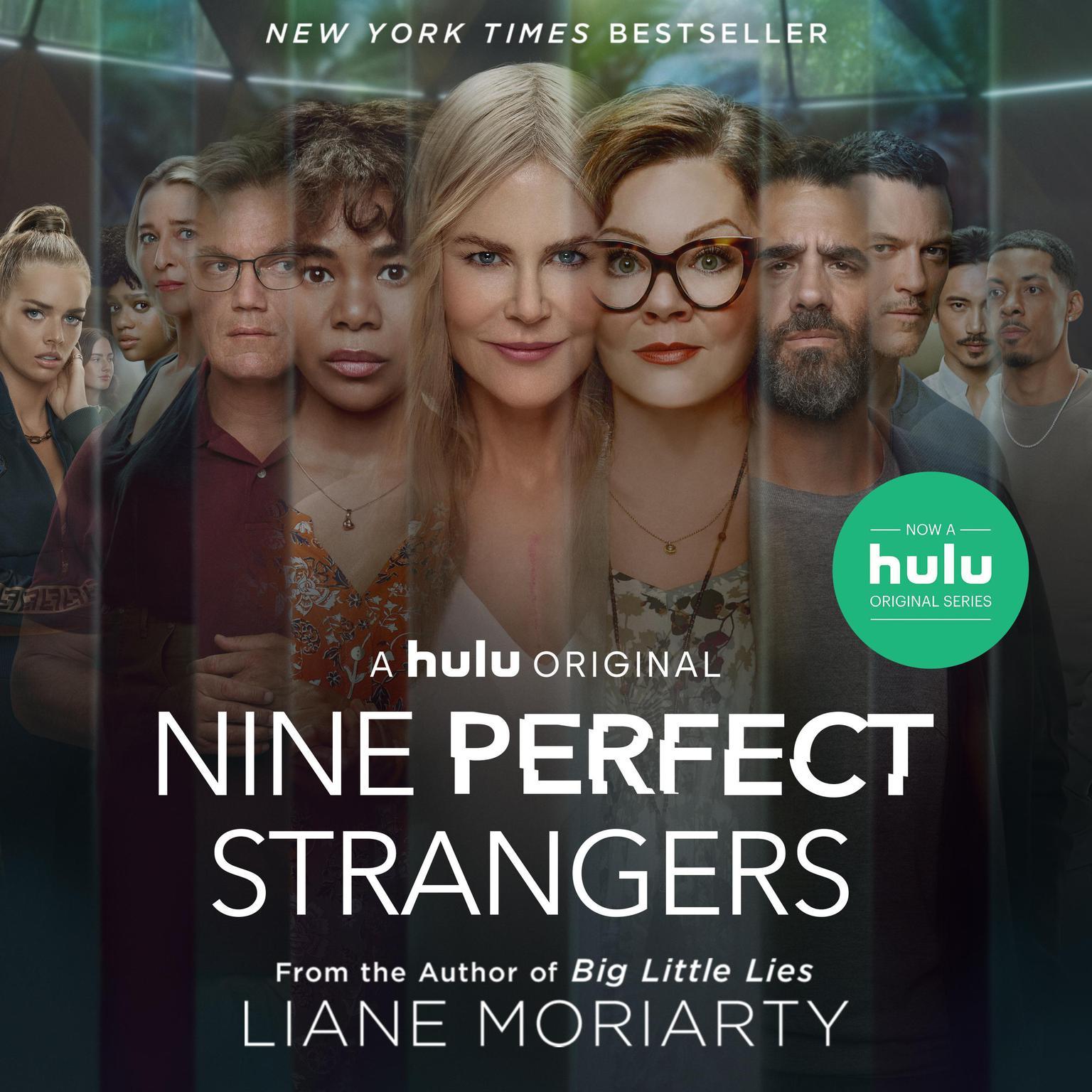 Printable Nine Perfect Strangers Audiobook Cover Art