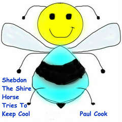 Shebdon The Shire Horse Tries To Keep Cool Audiobook, by Paul Cook
