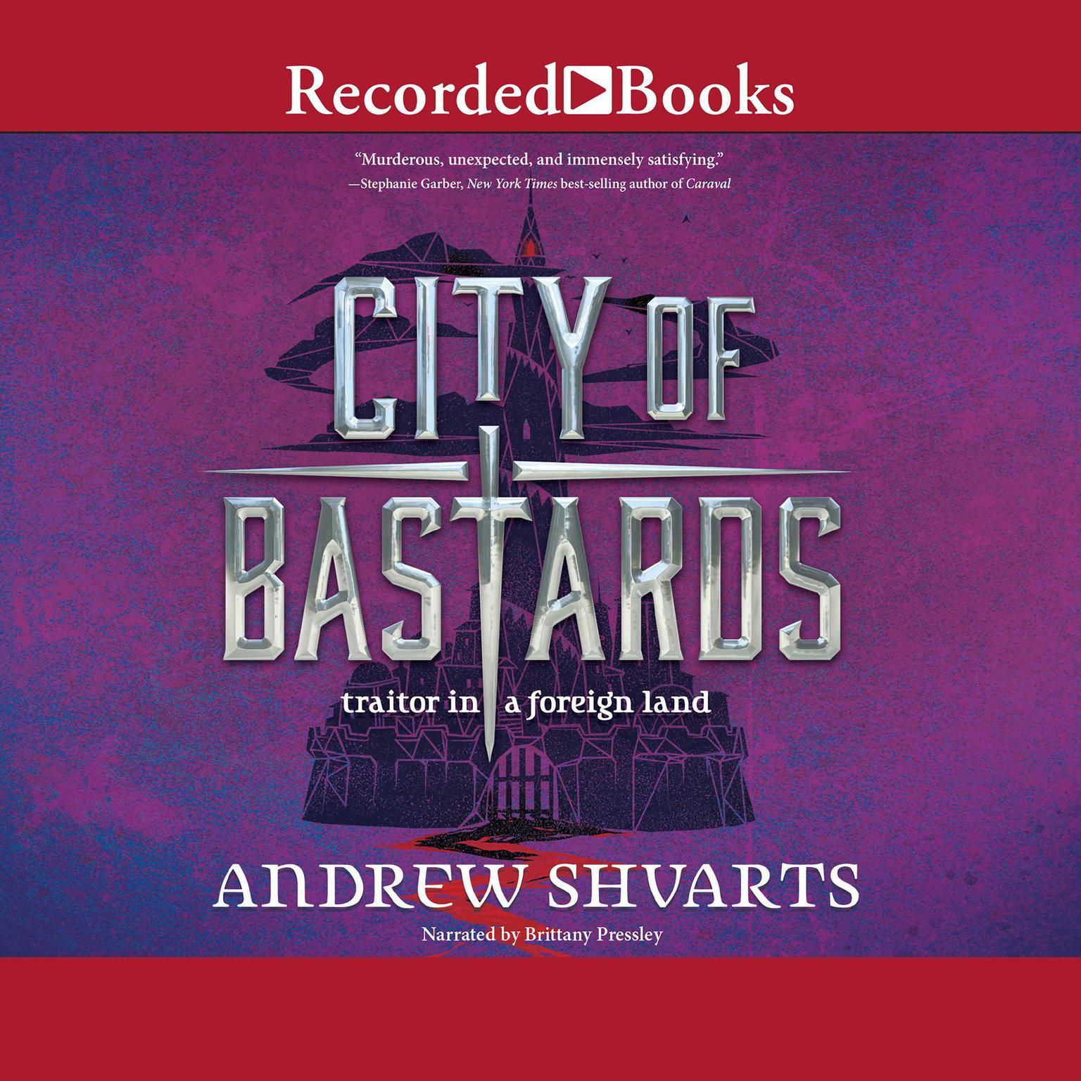Printable City of Bastards Audiobook Cover Art