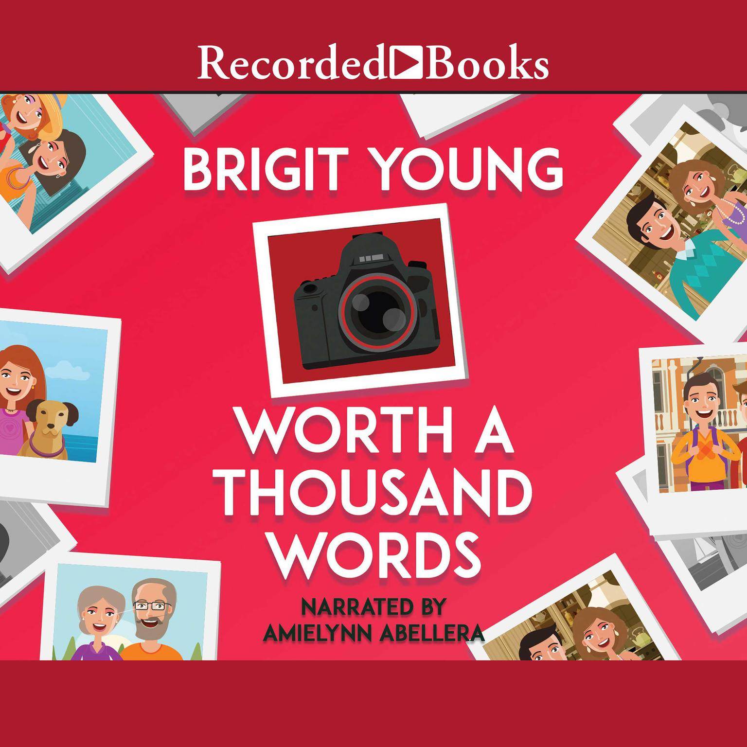 Printable Worth a Thousand Words Audiobook Cover Art