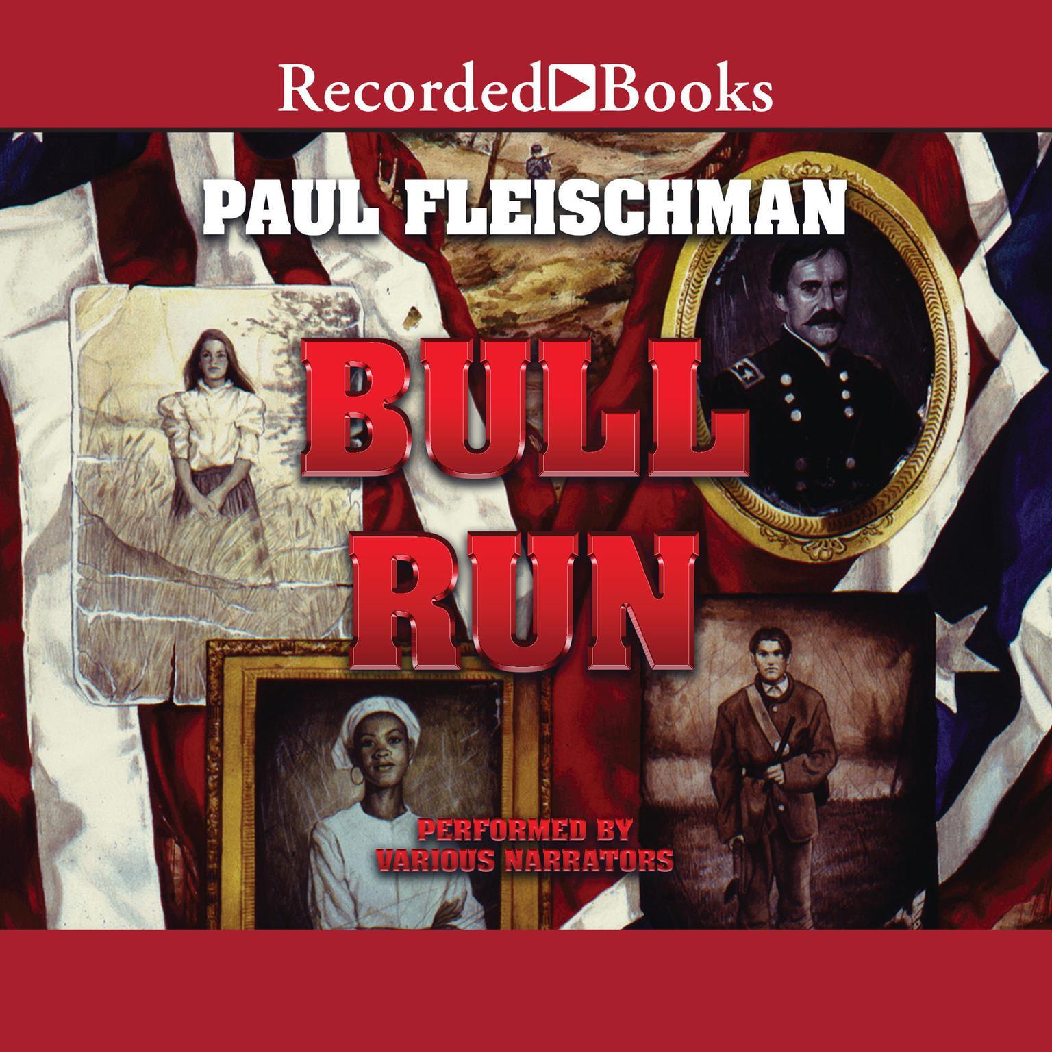 Printable Bull Run Audiobook Cover Art
