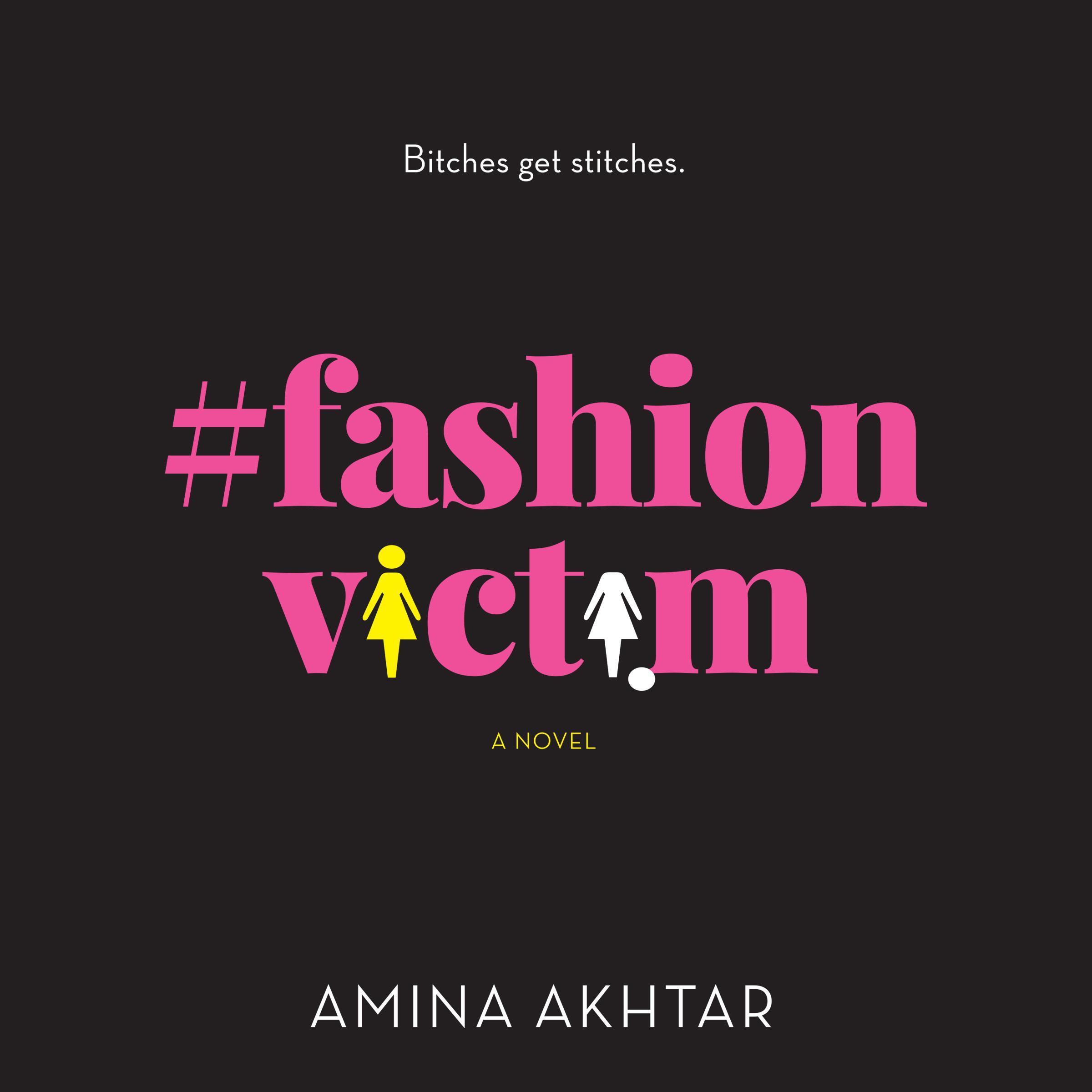 Printable #FashionVictim: A Novel Audiobook Cover Art