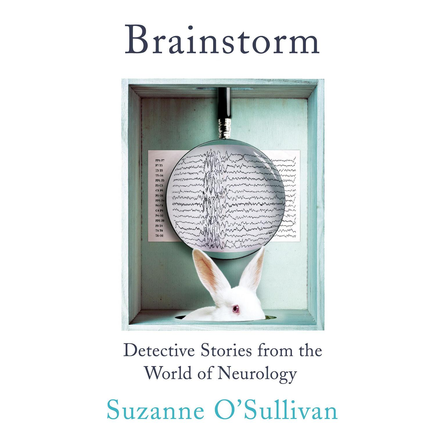 Printable Brainstorm: Detective Stories from the World of Neurology Audiobook Cover Art
