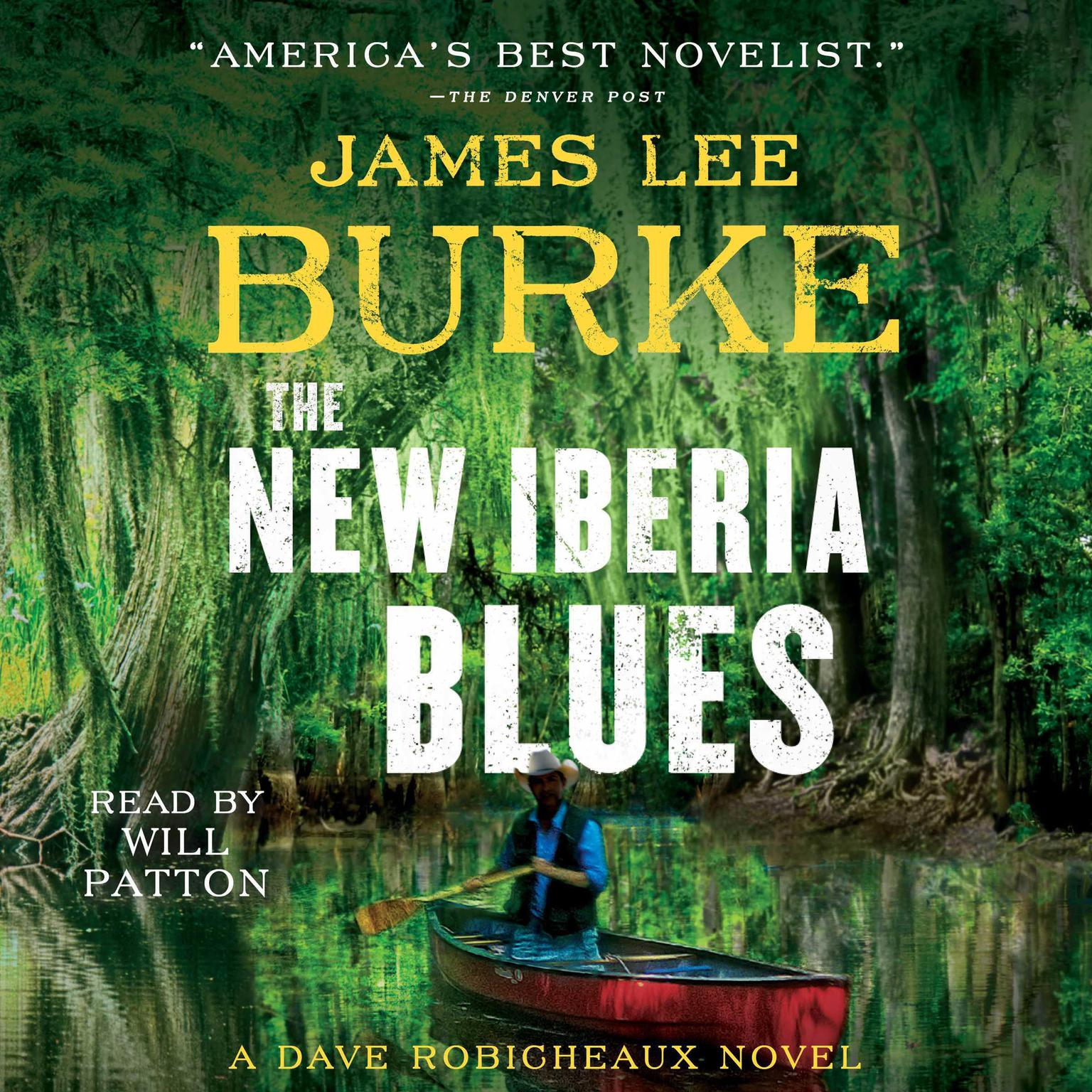 Printable The New Iberia Blues: A Dave Robicheaux Novel Audiobook Cover Art