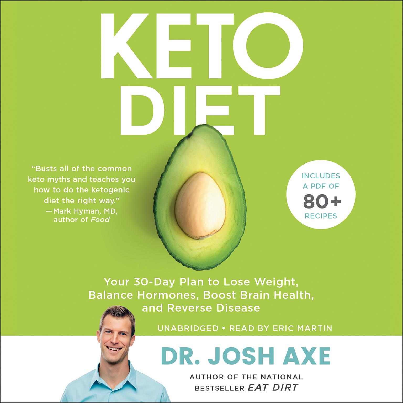 Printable Keto Diet: Your 30-Day Plan to Lose Weight, Balance Hormones, Boost Brain Health, and Reverse Disease Audiobook Cover Art