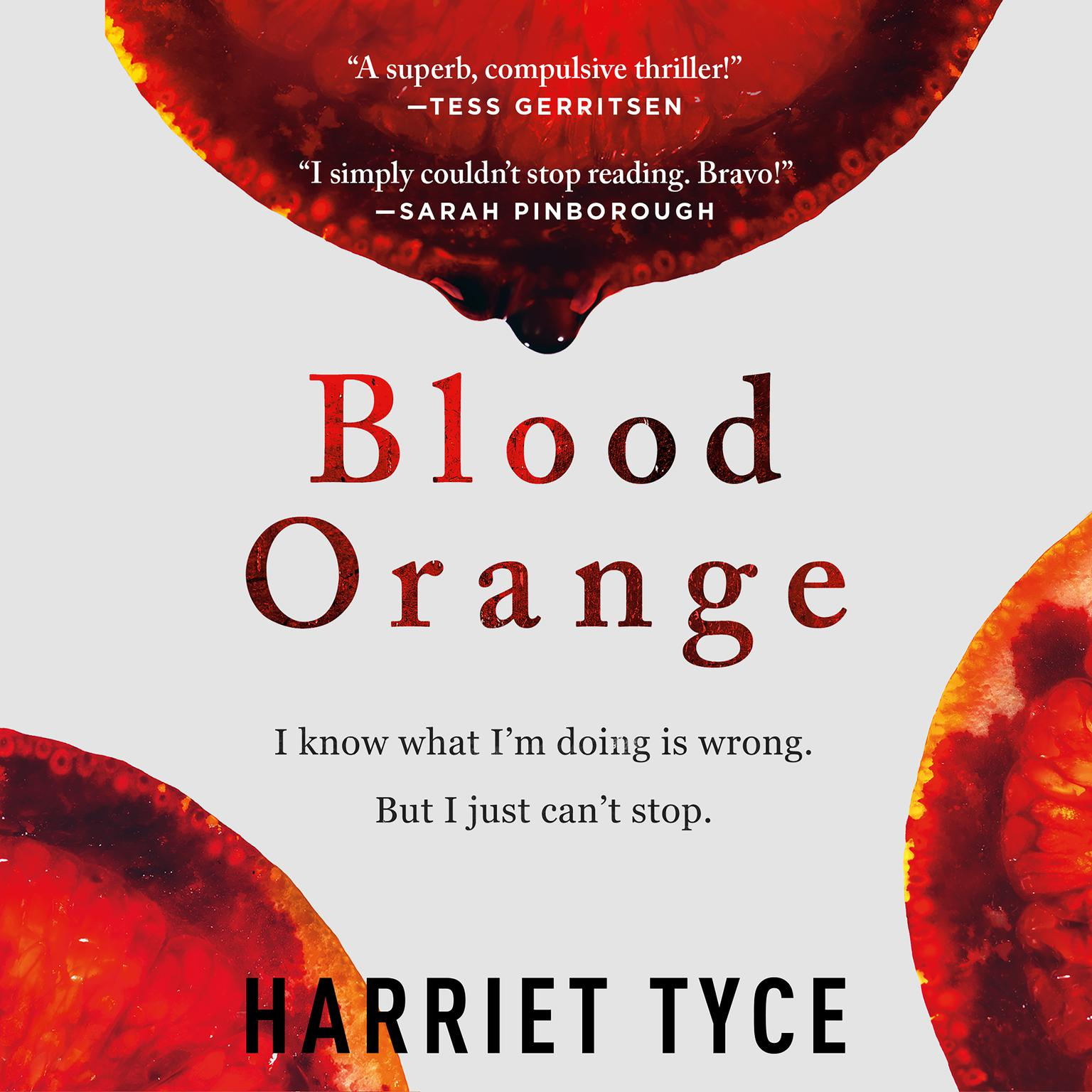 Printable Blood Orange Audiobook Cover Art