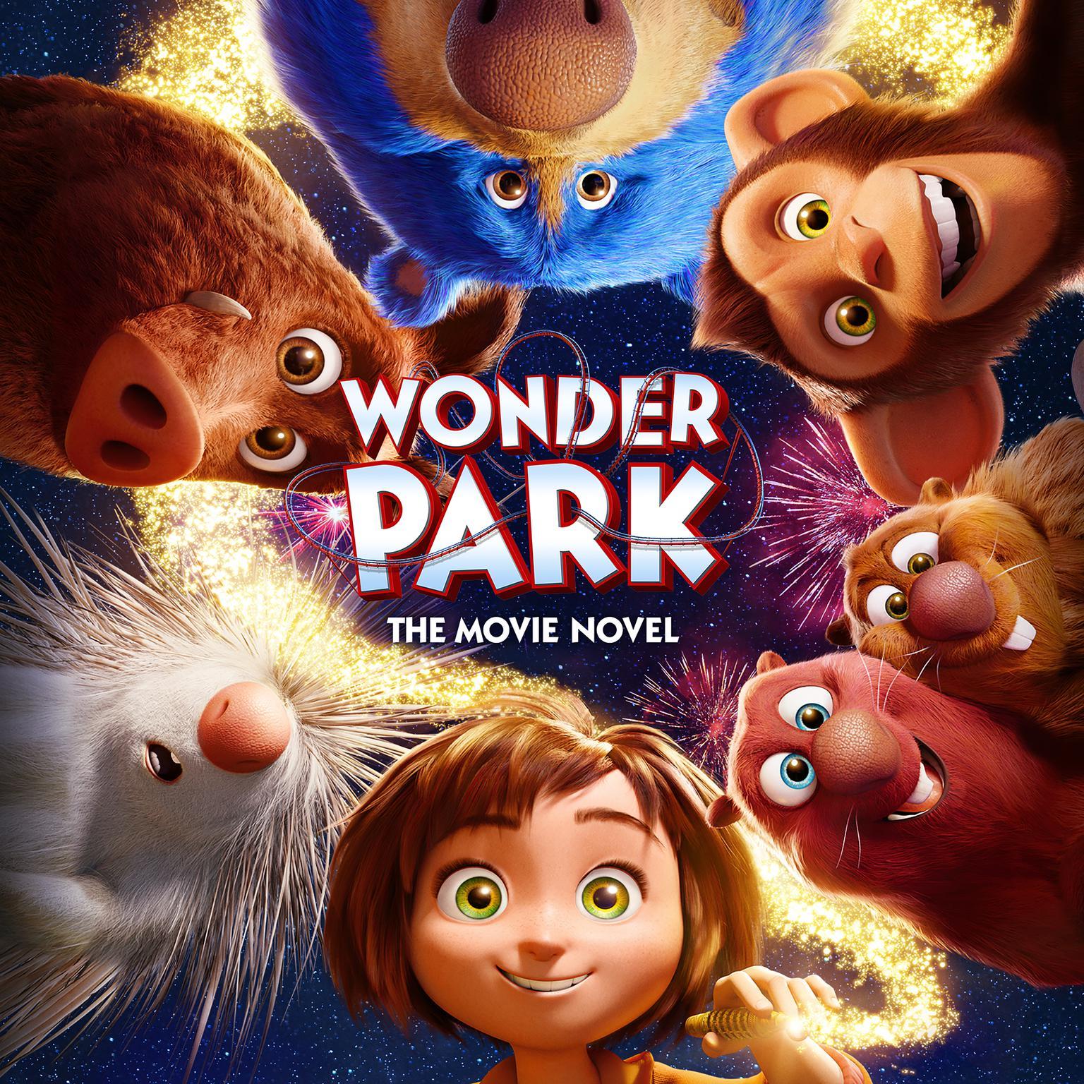 Printable Wonder Park: The Movie Novel Audiobook Cover Art