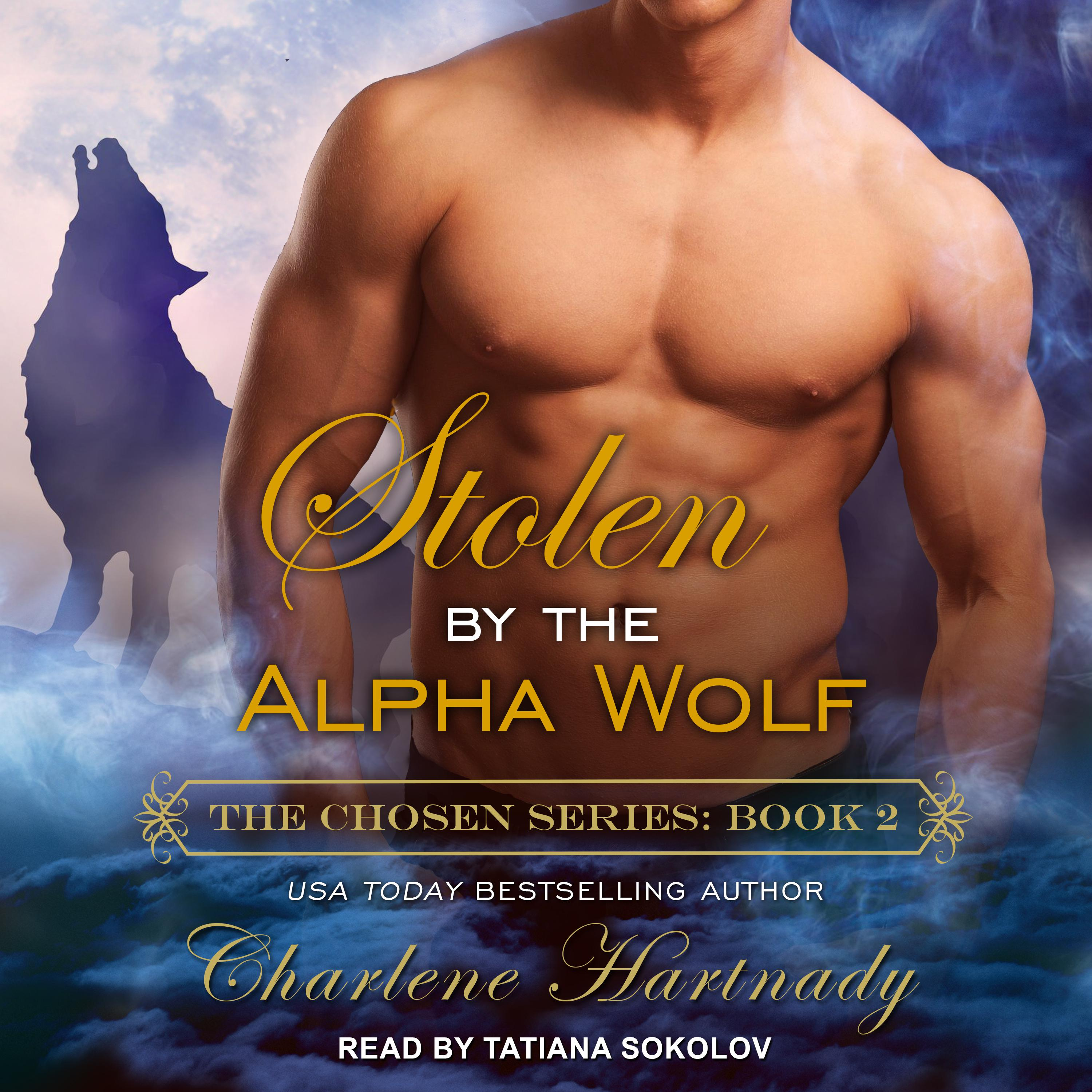 Printable Stolen by the Alpha Wolf Audiobook Cover Art