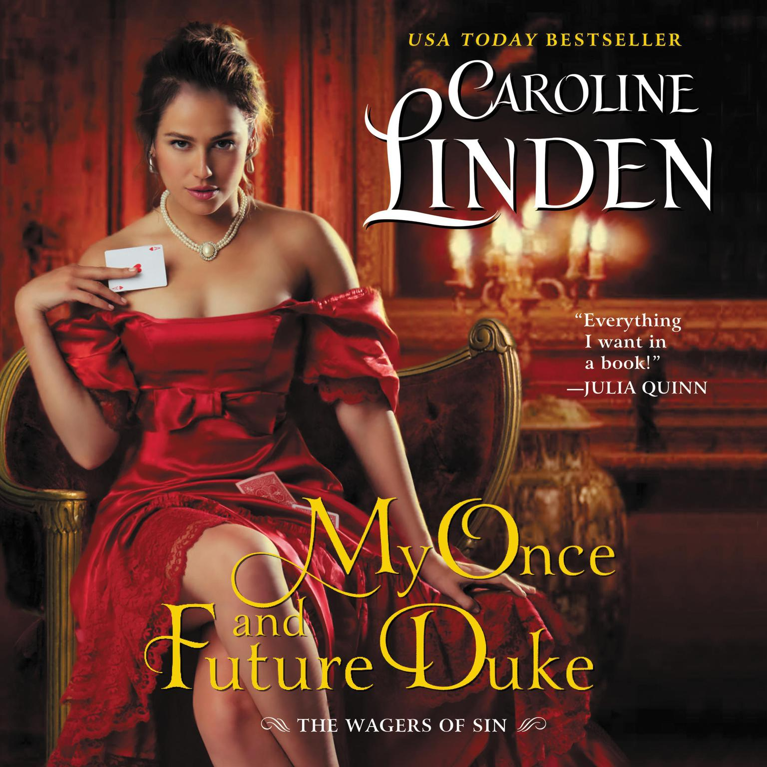 Printable My Once and Future Duke: The Wagers of Sin Audiobook Cover Art