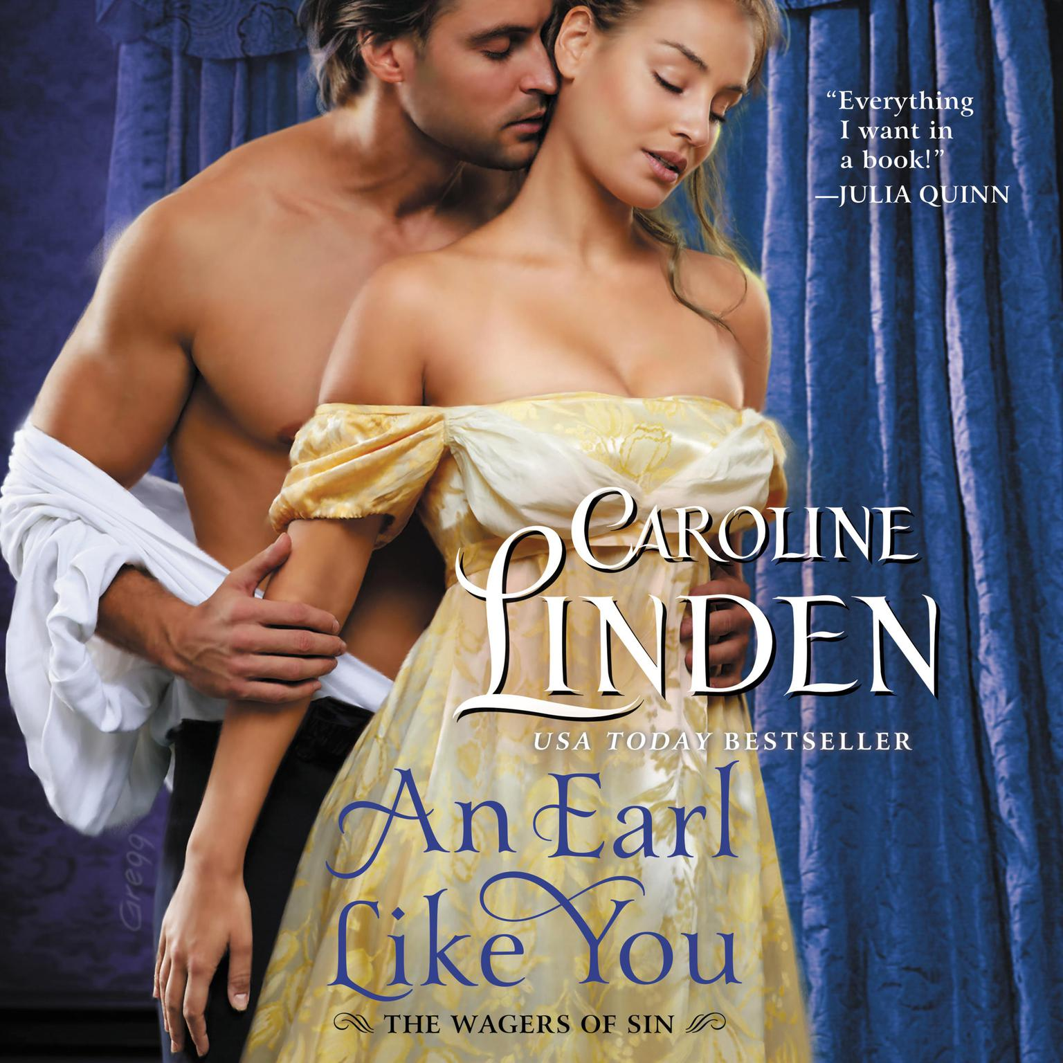 Printable An Earl Like You: The Wagers of Sin Audiobook Cover Art