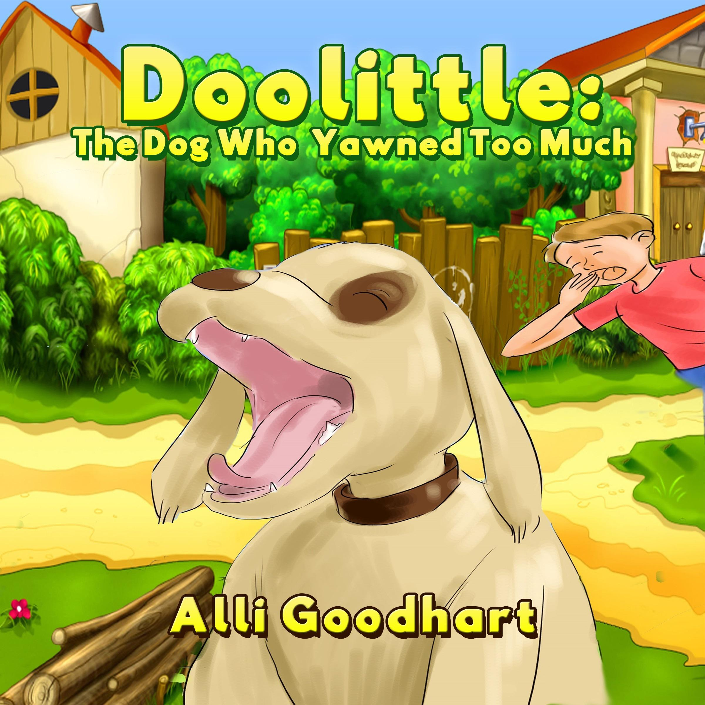 Printable Doolittle: The Dog Who Yawned Too Much Audiobook Cover Art