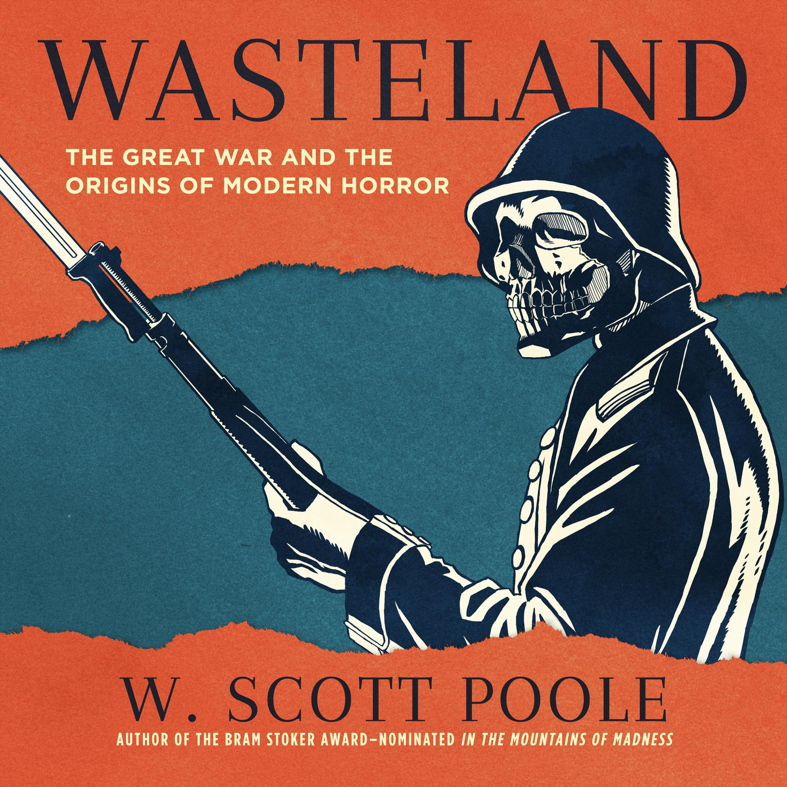 Printable Wasteland: The Great War and the Origins of Modern Horror Audiobook Cover Art