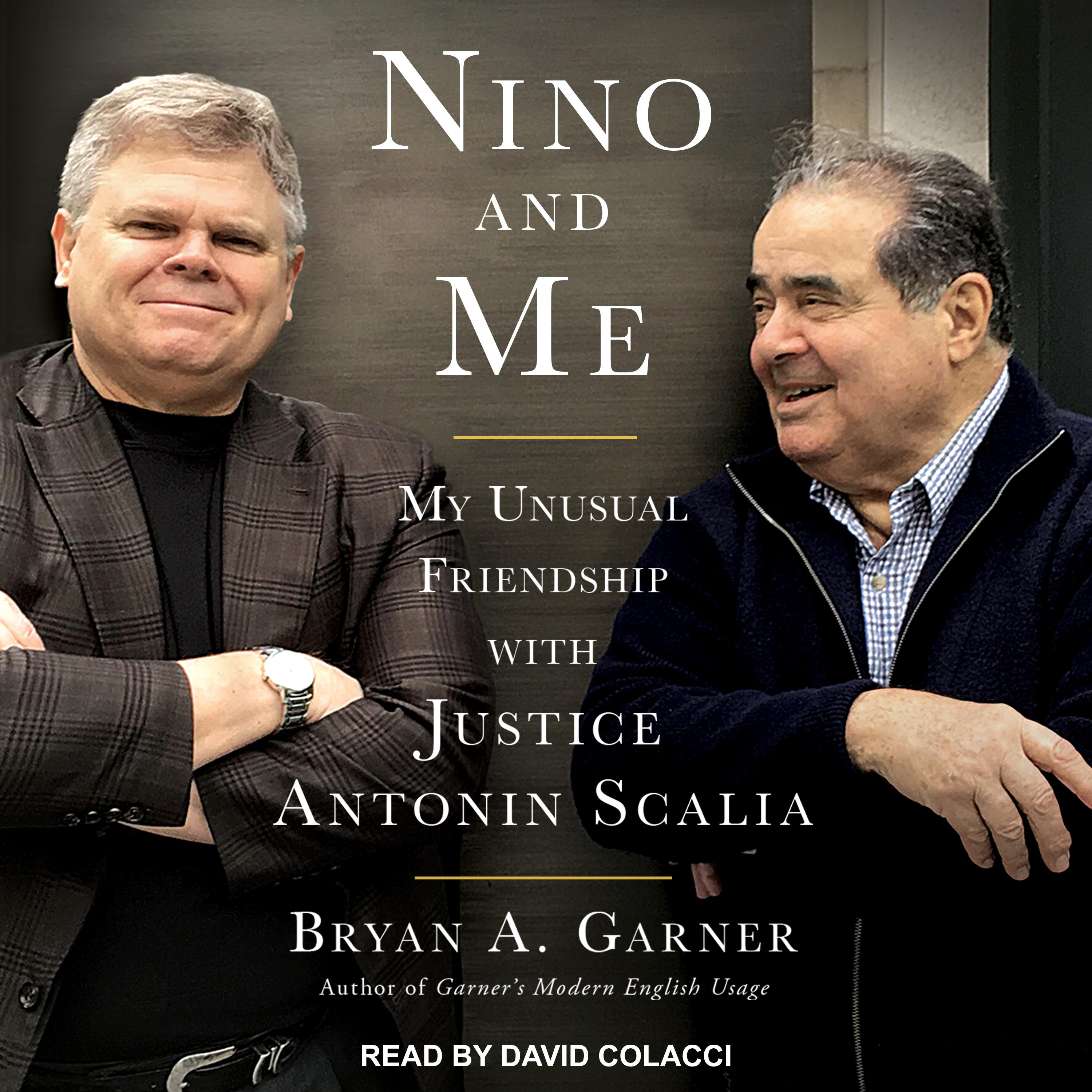 Printable Nino and Me: My Unusual Friendship with Justice Antonin Scalia Audiobook Cover Art