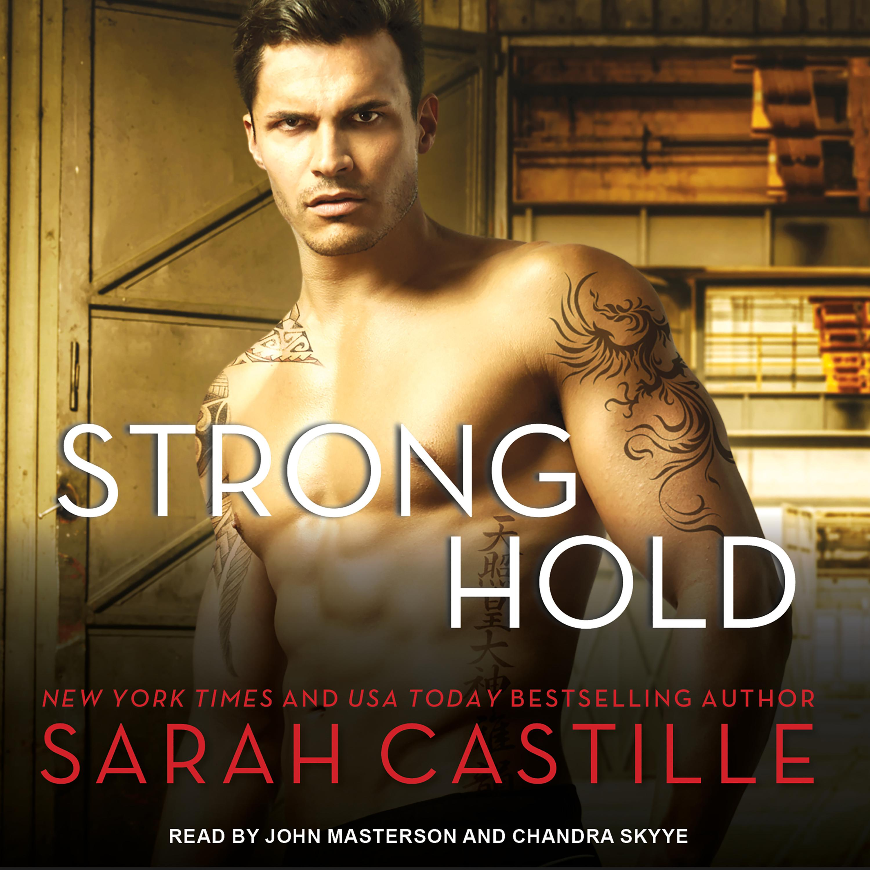 Printable Strong Hold Audiobook Cover Art