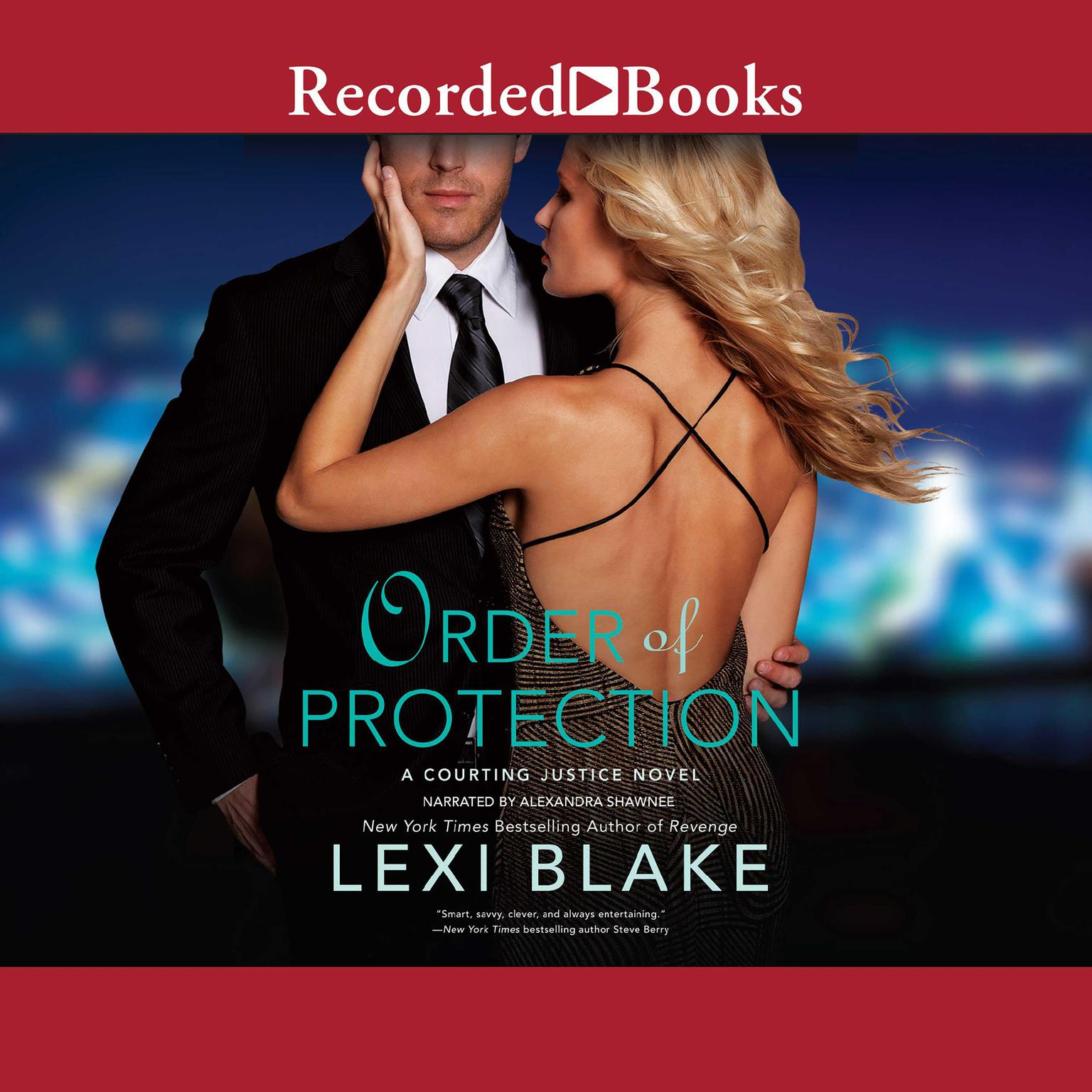 Printable Order of Protection Audiobook Cover Art