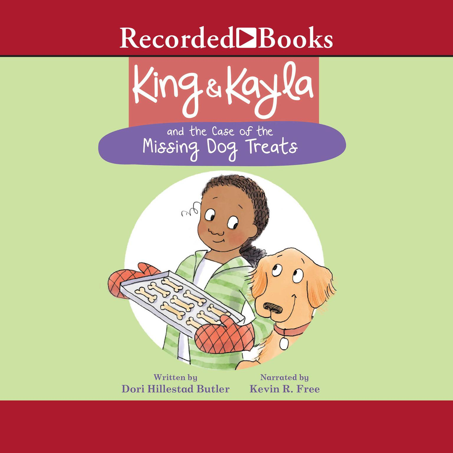 Printable King & Kayla and the Case of the Missing Dog Treats Audiobook Cover Art