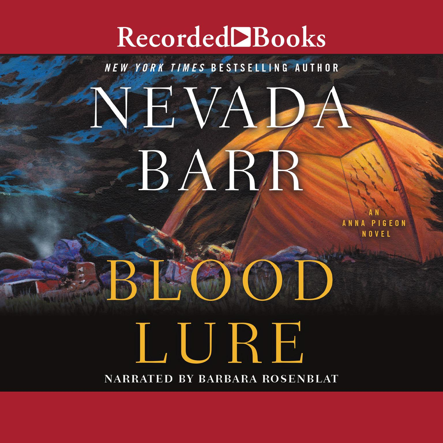 Printable Blood Lure Audiobook Cover Art
