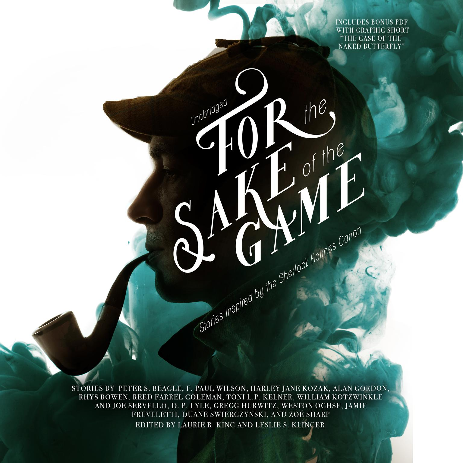 Printable For the Sake of the Game: Stories Inspired by the Sherlock Holmes Canon Audiobook Cover Art