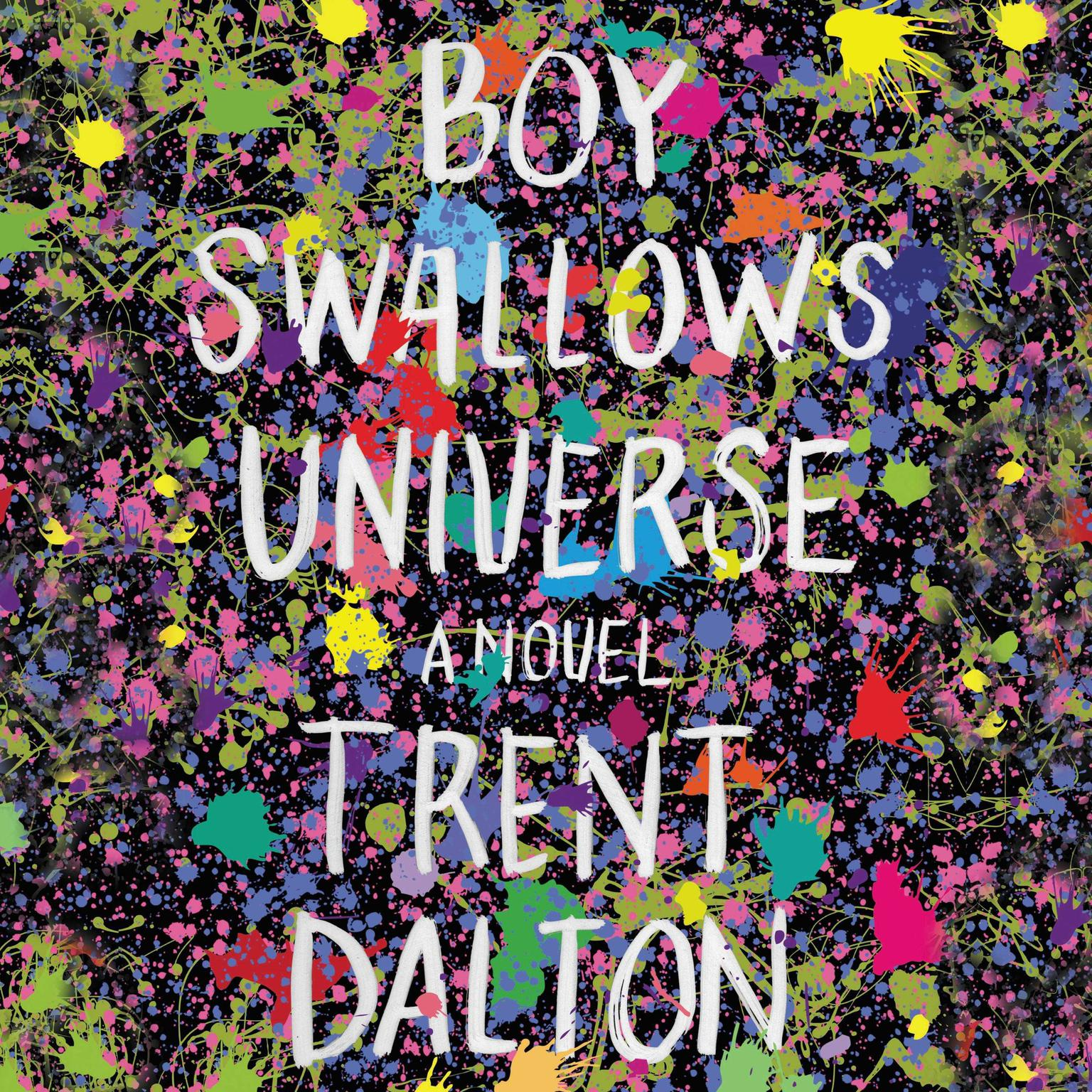 Printable Boy Swallows Universe Audiobook Cover Art