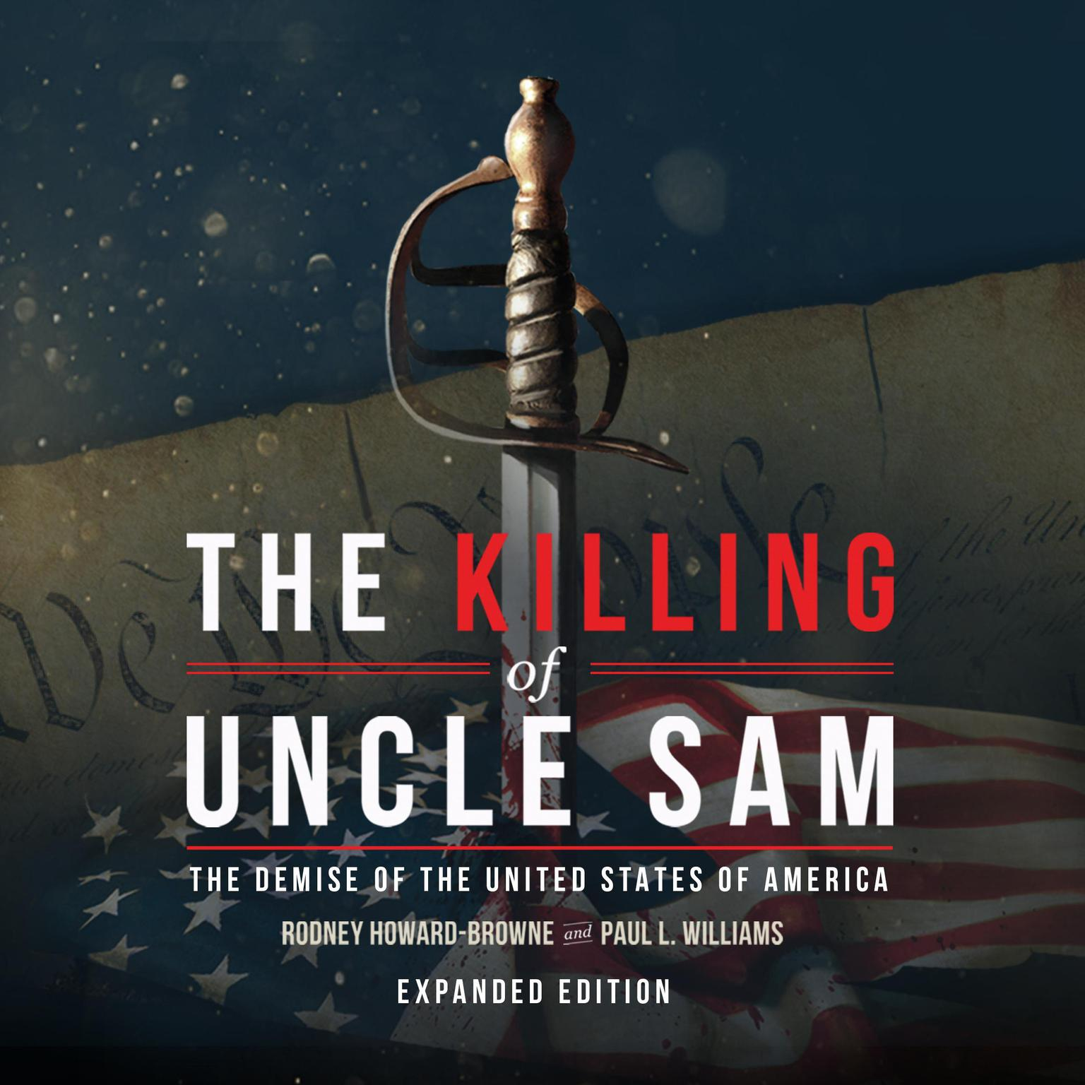 Printable The Killing of Uncle Sam Audiobook Cover Art