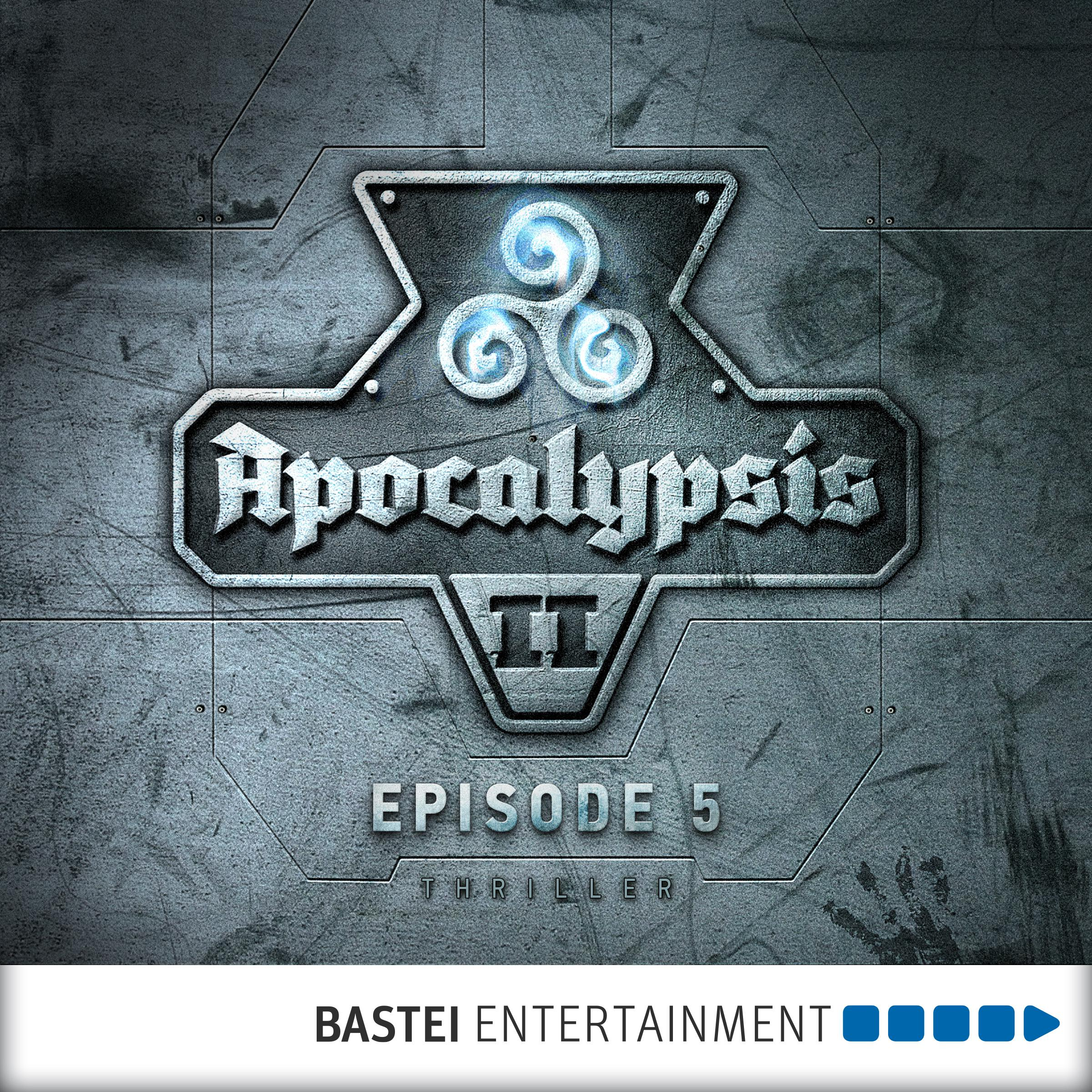 Printable Apocalypsis 2, Episode 5: The End of Time Audiobook Cover Art