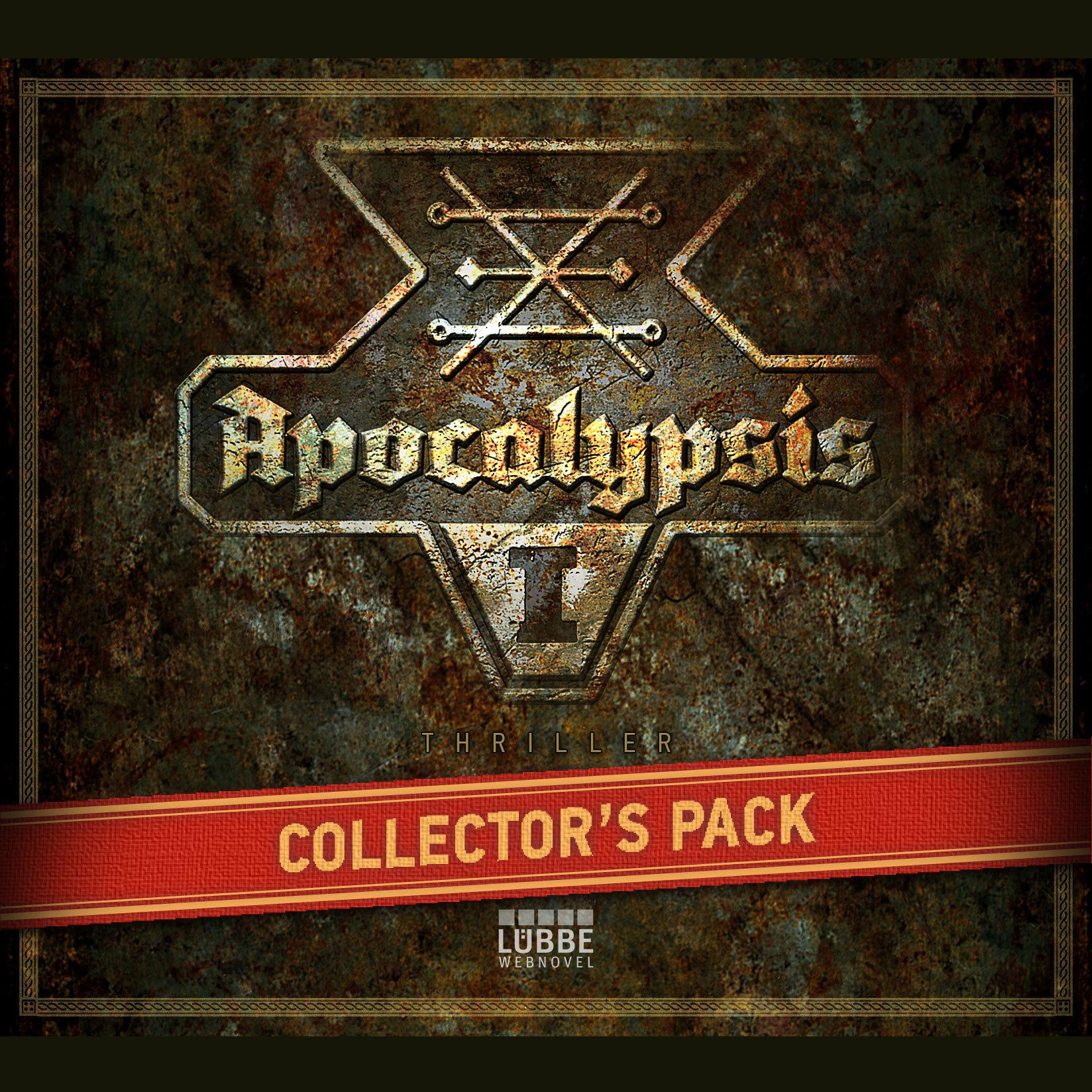 Printable Apocalypsis 1: Collector's Pack Audiobook Cover Art