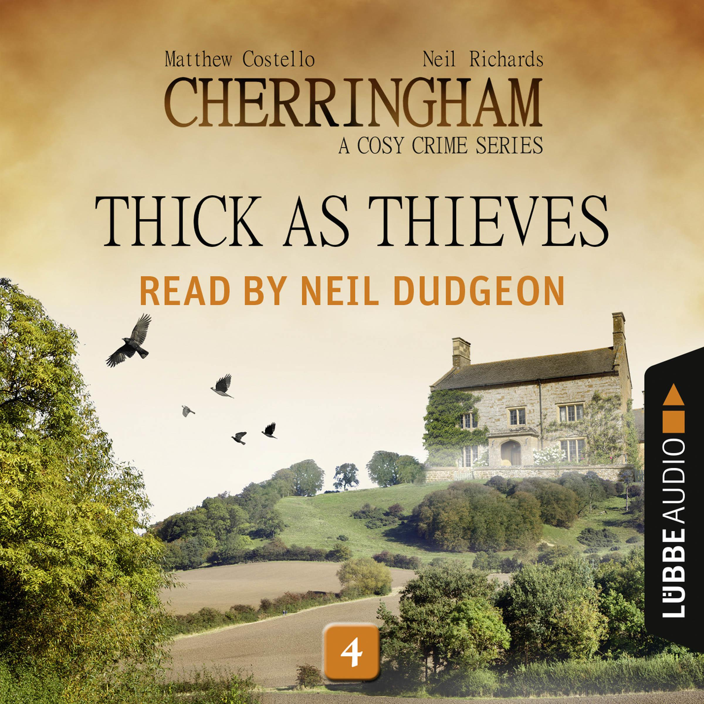 Printable Thick as Thieves: Cherringham, Episode 4 Audiobook Cover Art