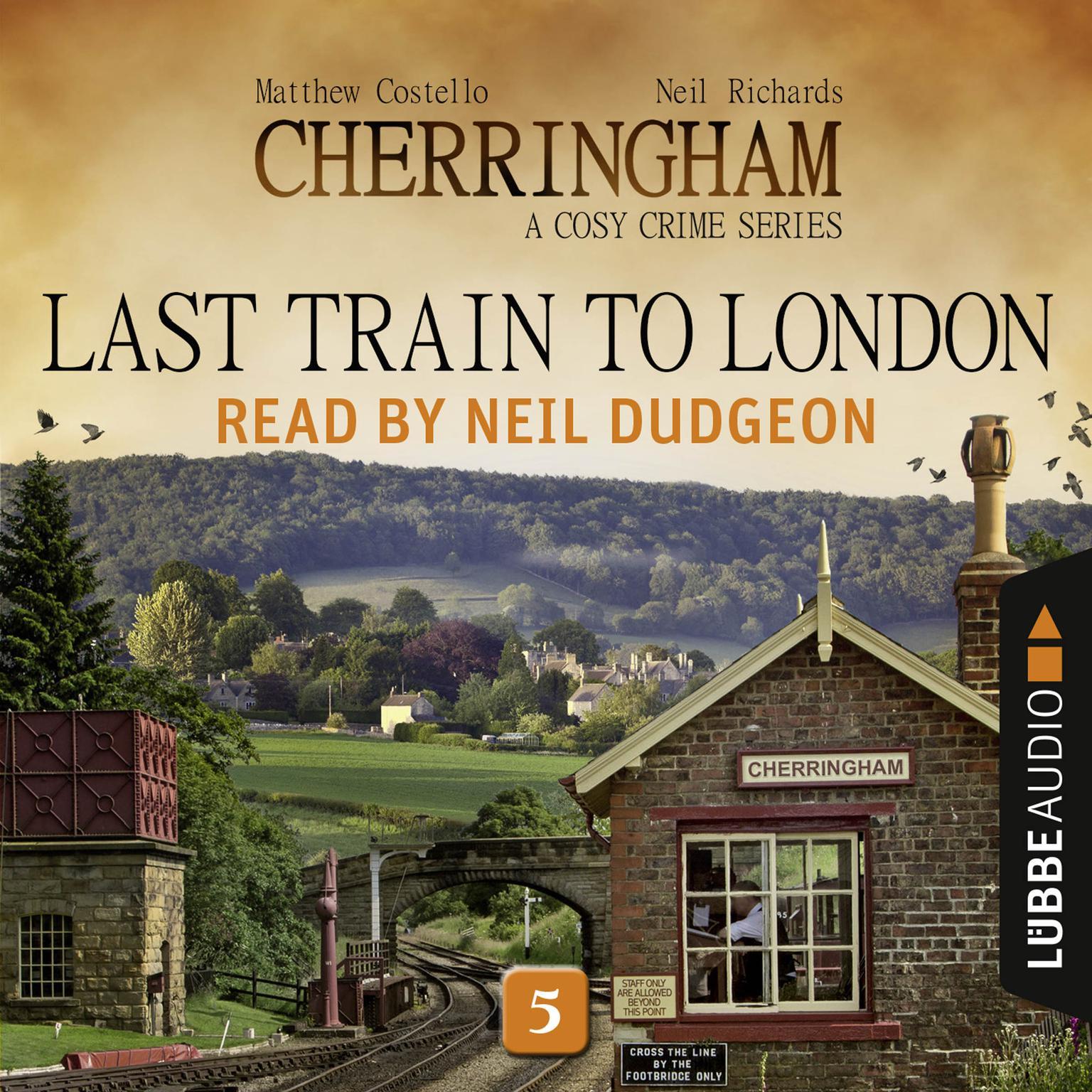 Printable Last Train to London: Cherringham, Episode 5 Audiobook Cover Art