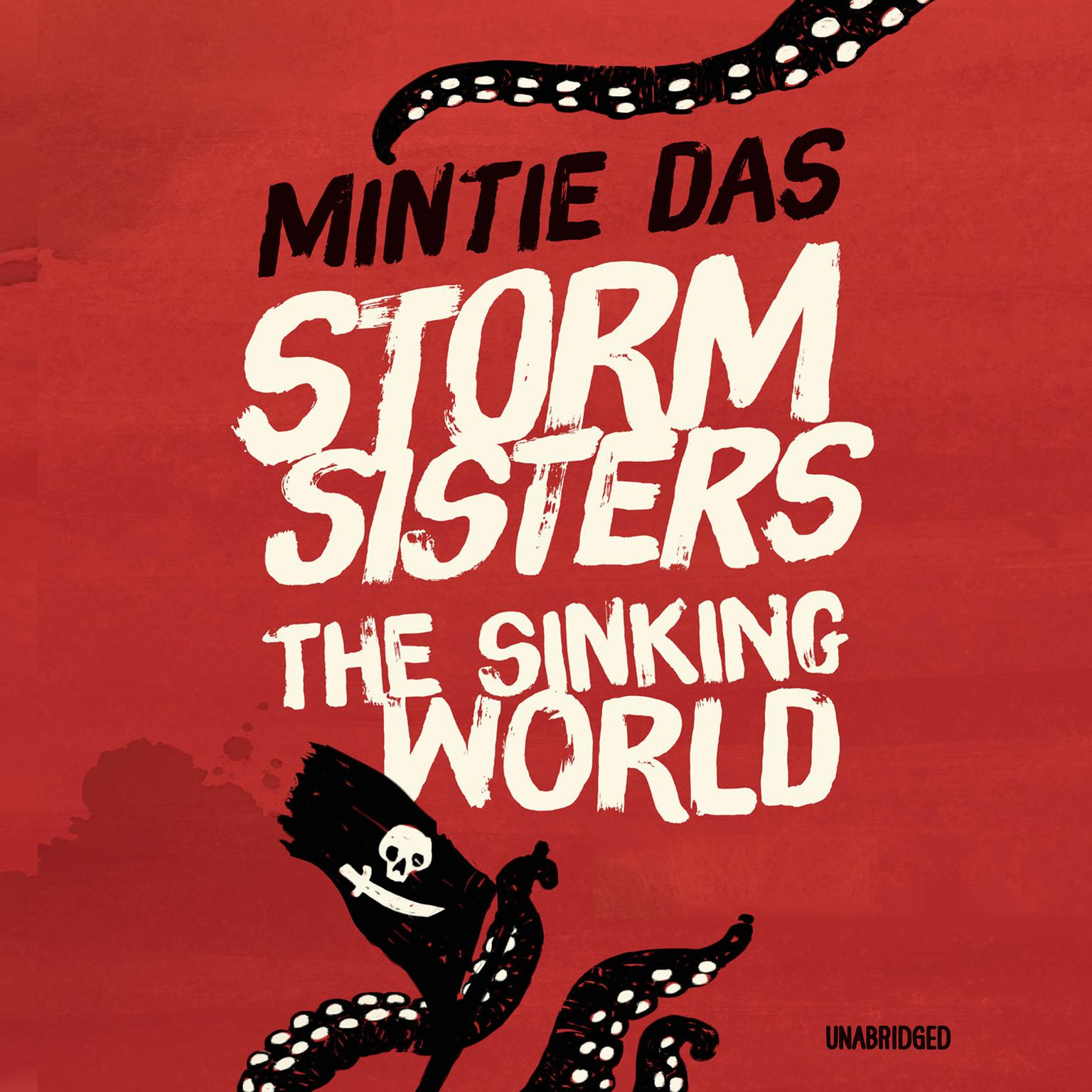 Printable Storm Sisters: The Sinking World Audiobook Cover Art