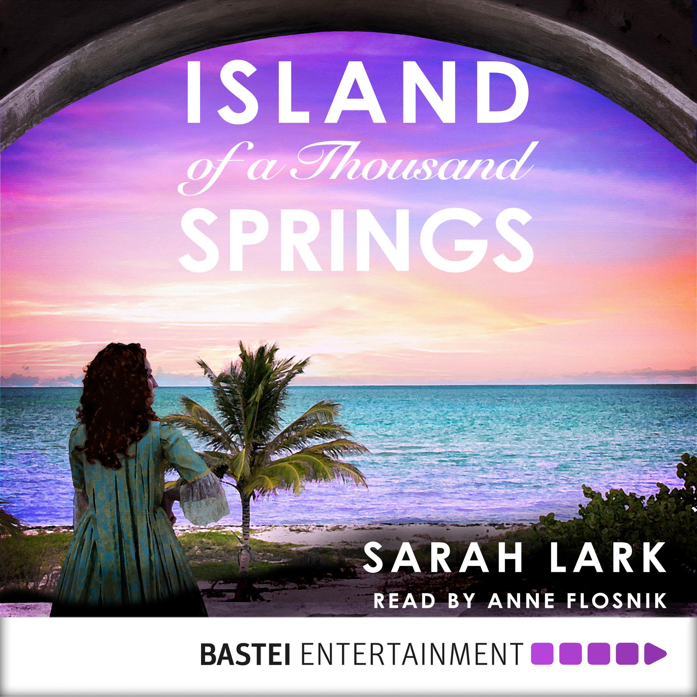 Printable Island of a Thousand Springs Audiobook Cover Art