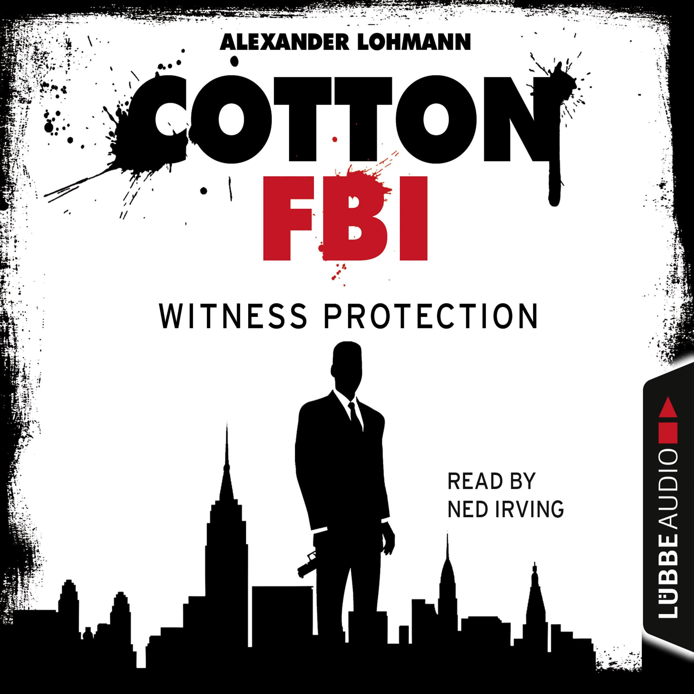 Printable Cotton FBI, Episode 4: Witness Protection Audiobook Cover Art