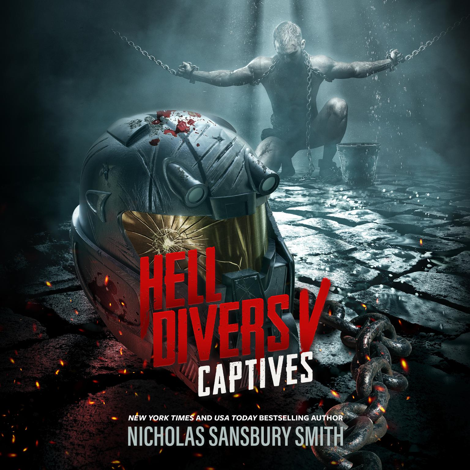 Printable Hell Divers V: Captives Audiobook Cover Art