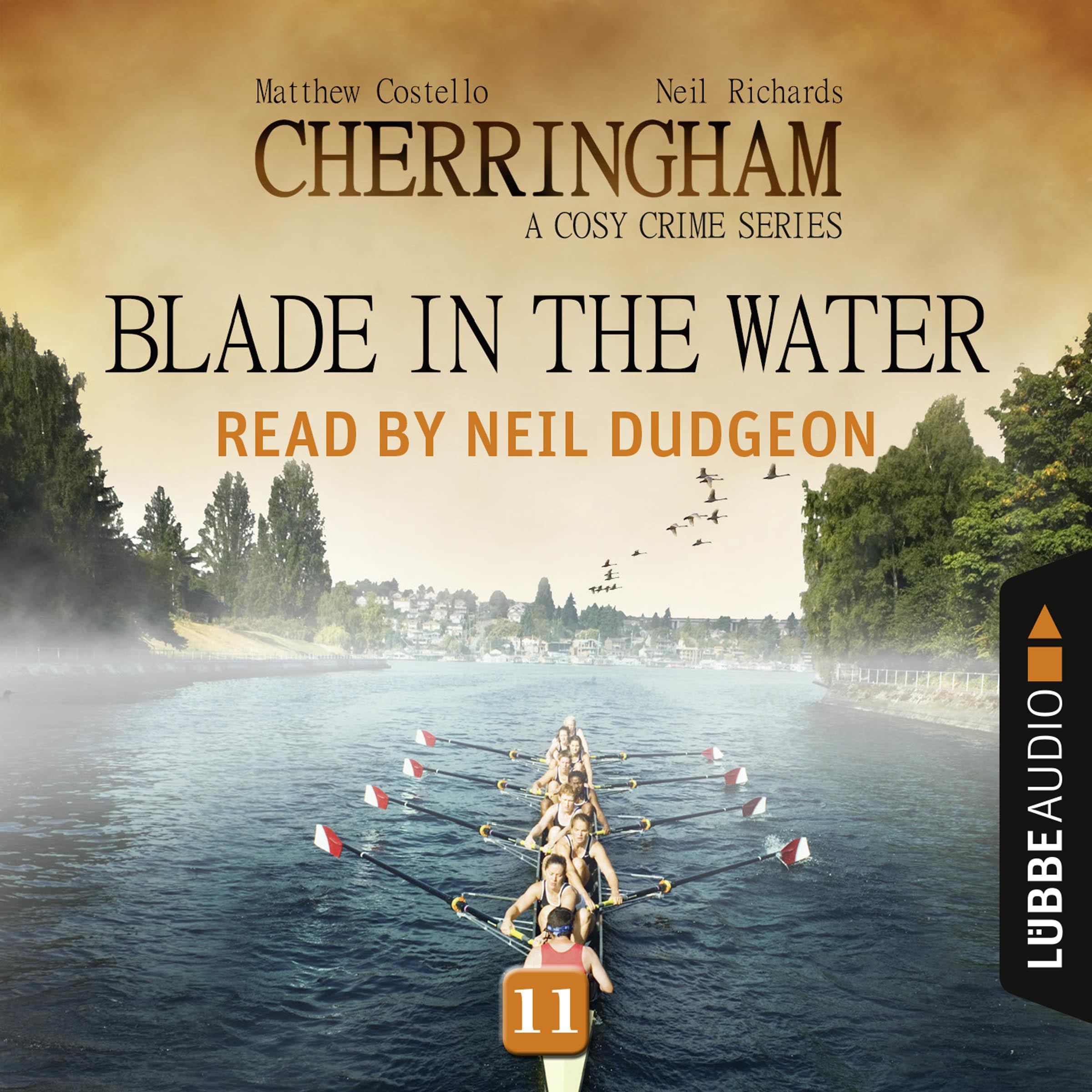 Printable Blade in the Water: Cherringham, Episode 11 Audiobook Cover Art