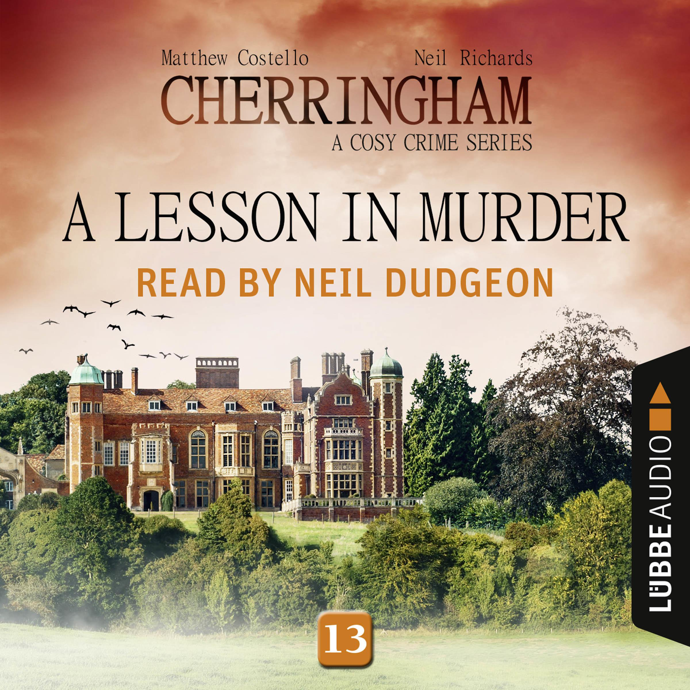 Printable A Lesson in Murder: Cherringham, Episode 13 Audiobook Cover Art