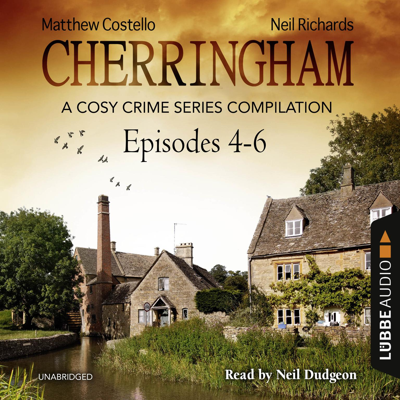 Printable Cherringham, Episodes 4–6: A Cosy Crime Series Compilation Audiobook Cover Art