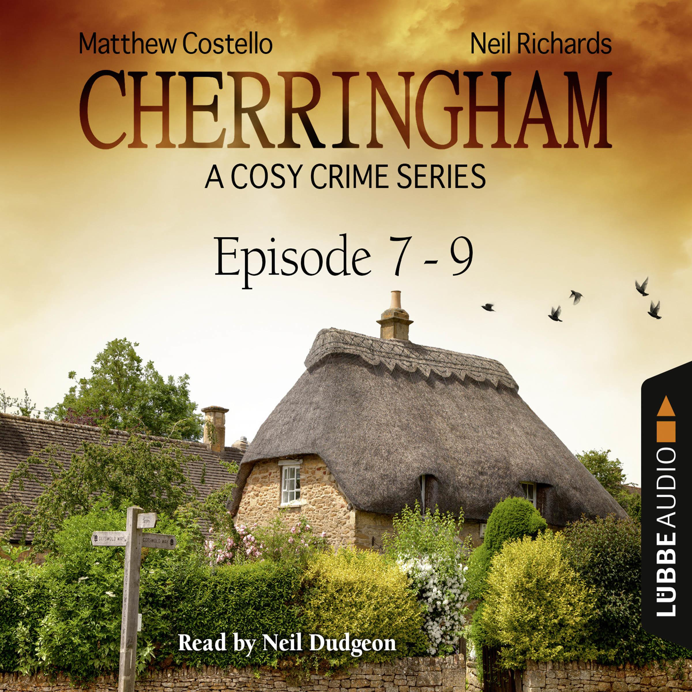 Printable Cherringham, Episodes 7–9: A Cosy Crime Series Compilation Audiobook Cover Art