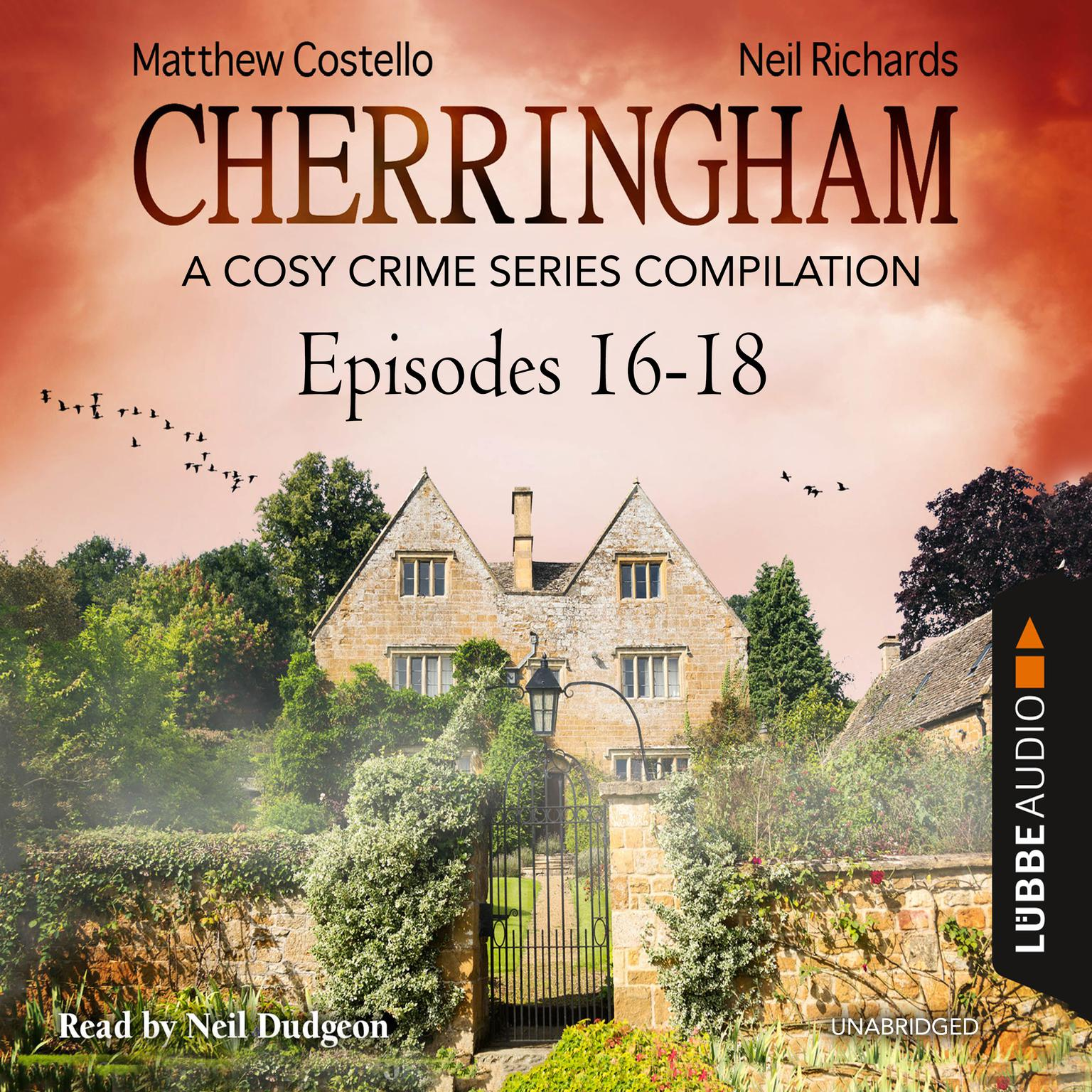 Printable Cherringham, Episodes 16–18: A Cosy Crime Series Compilation Audiobook Cover Art