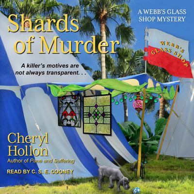 Shards of Murder Audiobook, by Cheryl Hollon