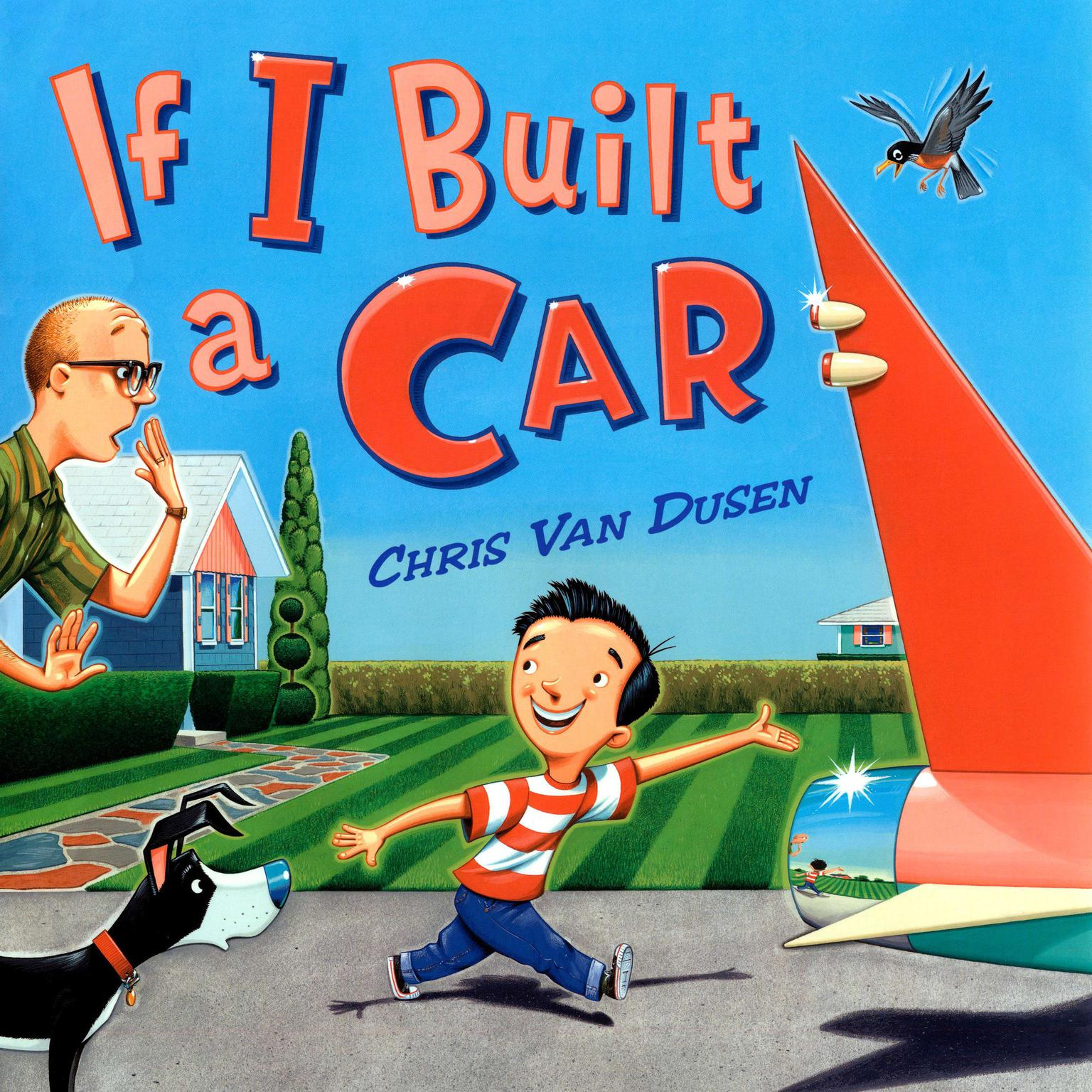Printable If I Built a Car Audiobook Cover Art