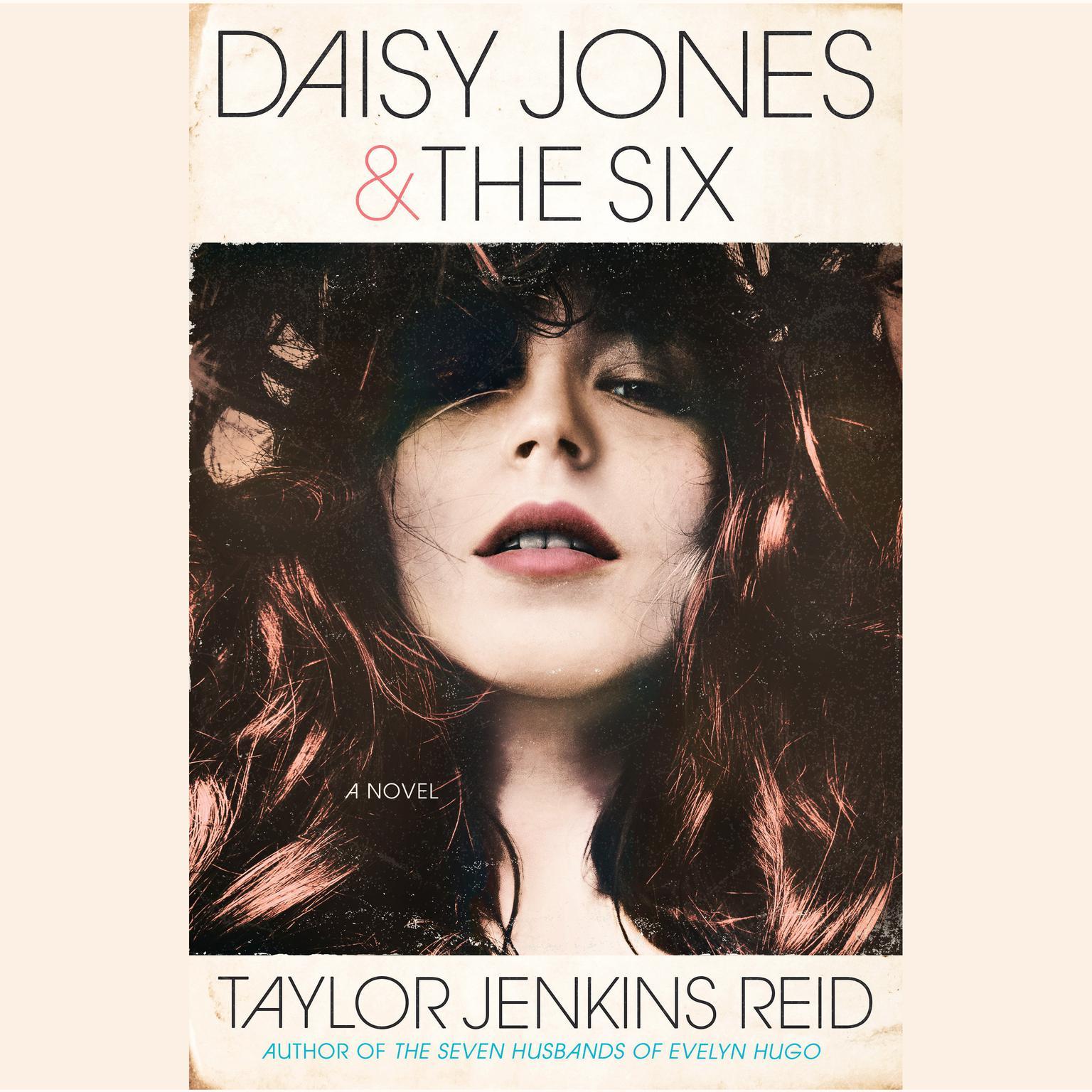 Printable Daisy Jones & The Six: A Novel Audiobook Cover Art