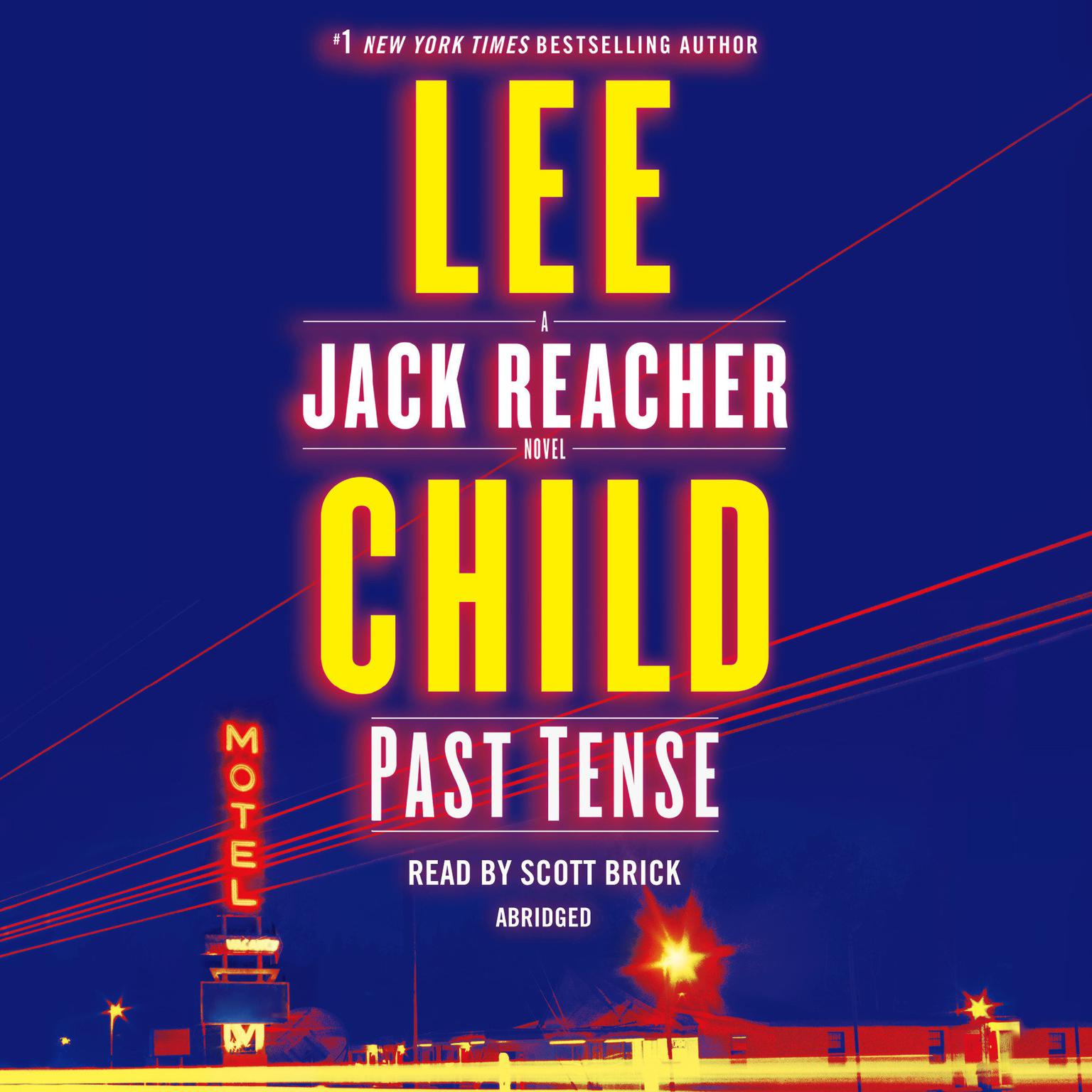 Printable Past Tense: A Jack Reacher Novel Audiobook Cover Art