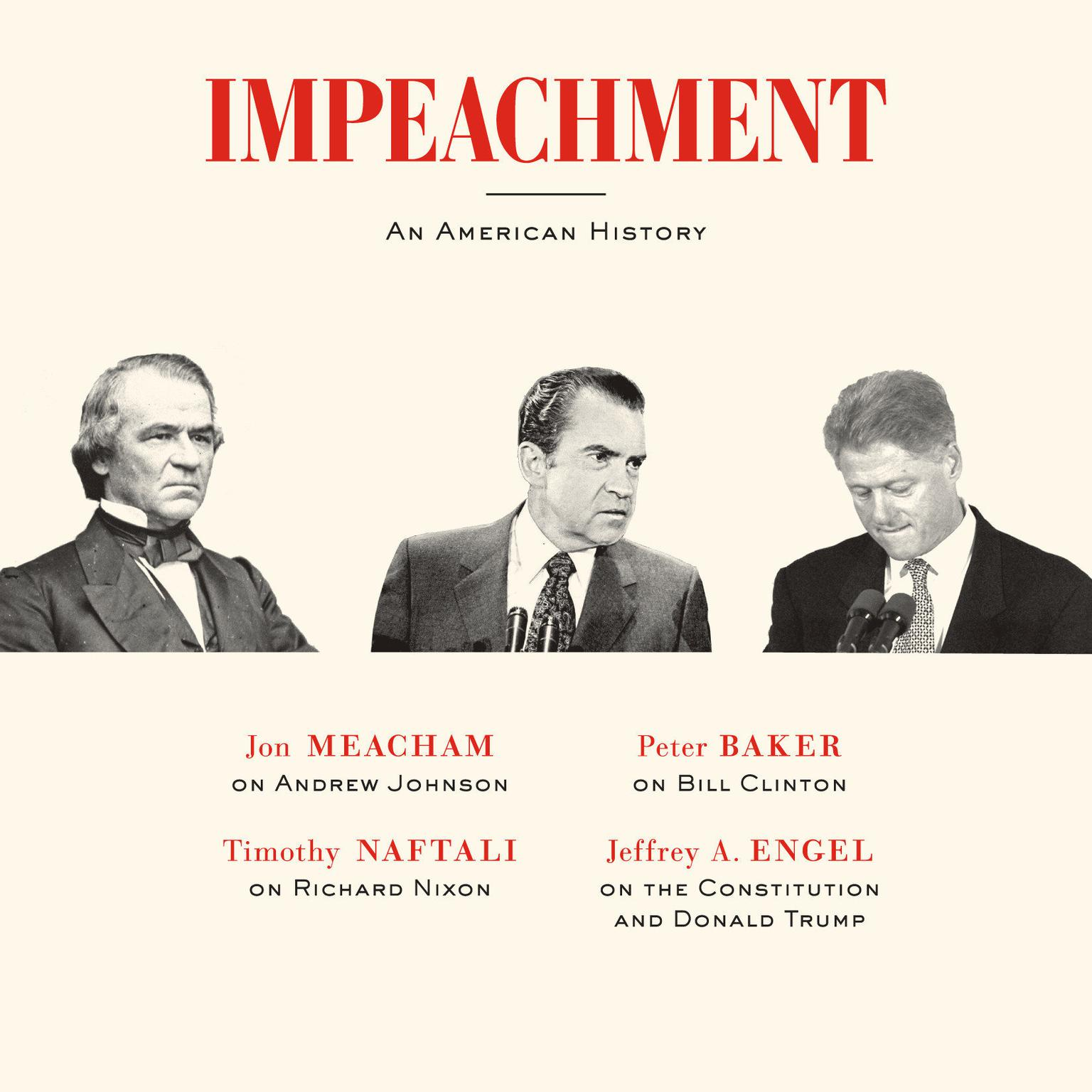Printable Impeachment: An American History Audiobook Cover Art