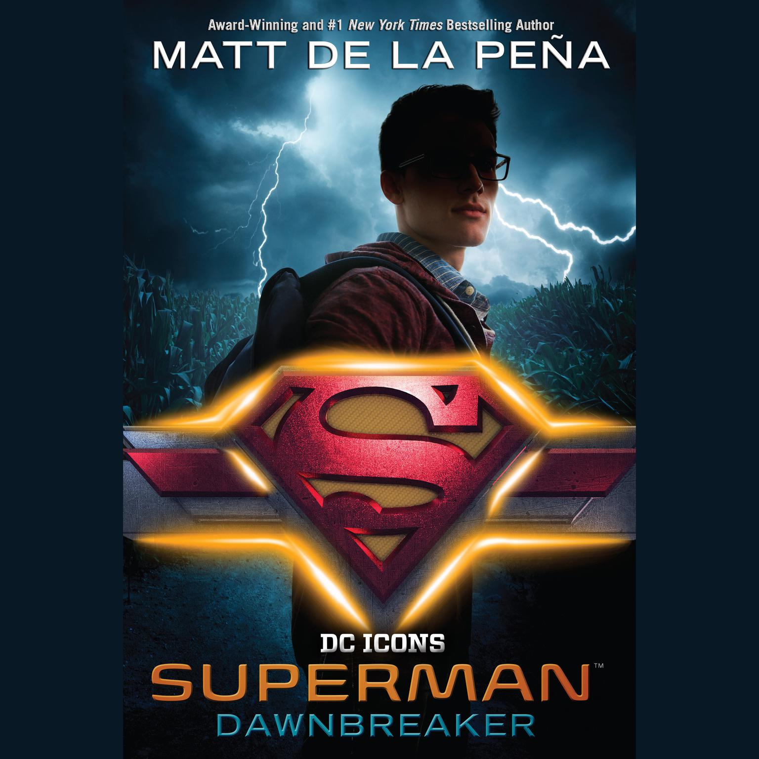 Printable Superman: Dawnbreaker Audiobook Cover Art